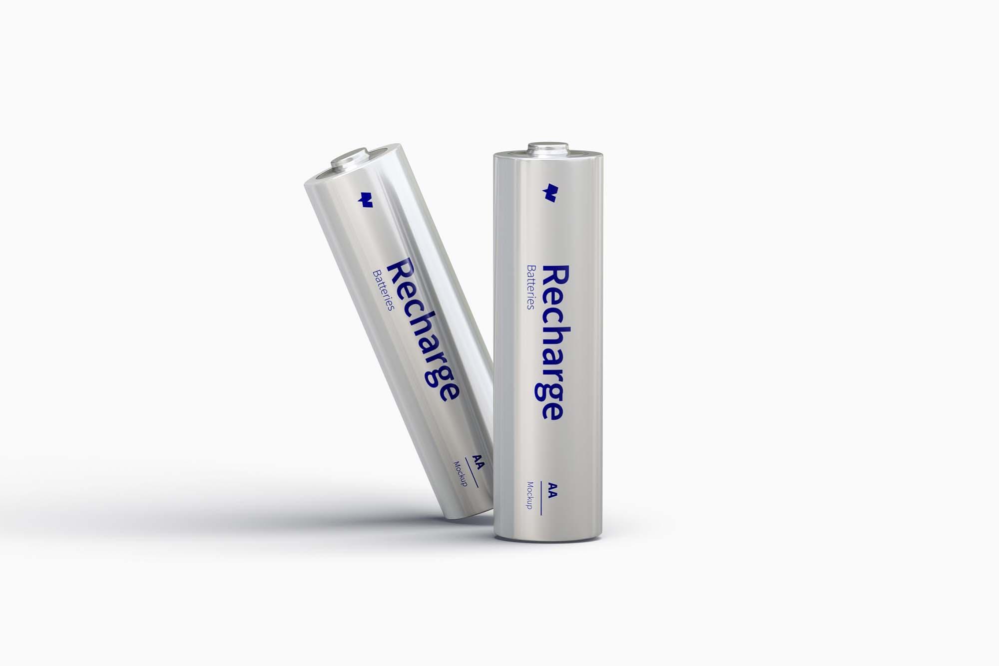 AA Batteries Mockup 4