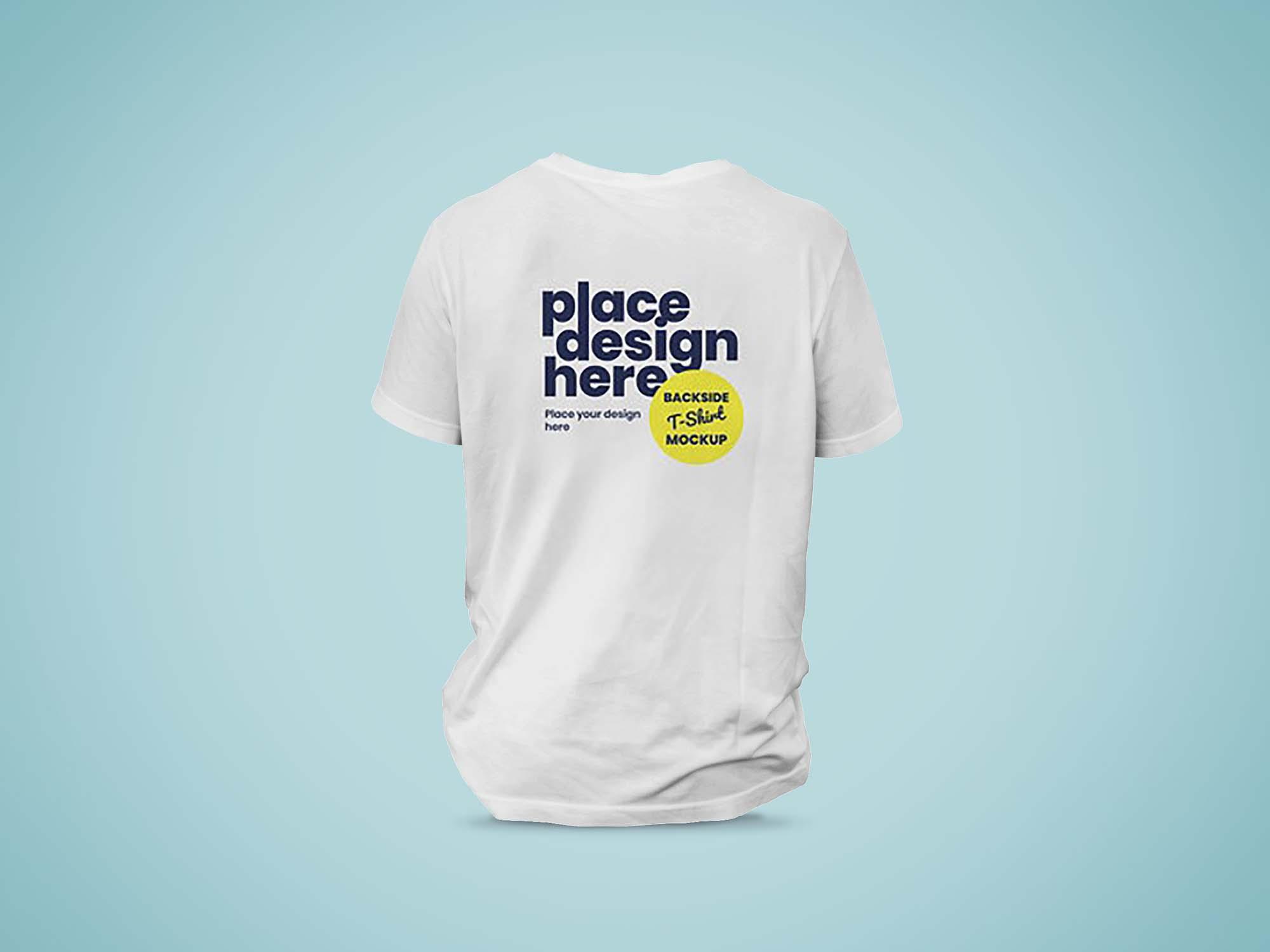 Backside T-Shirt Mockup