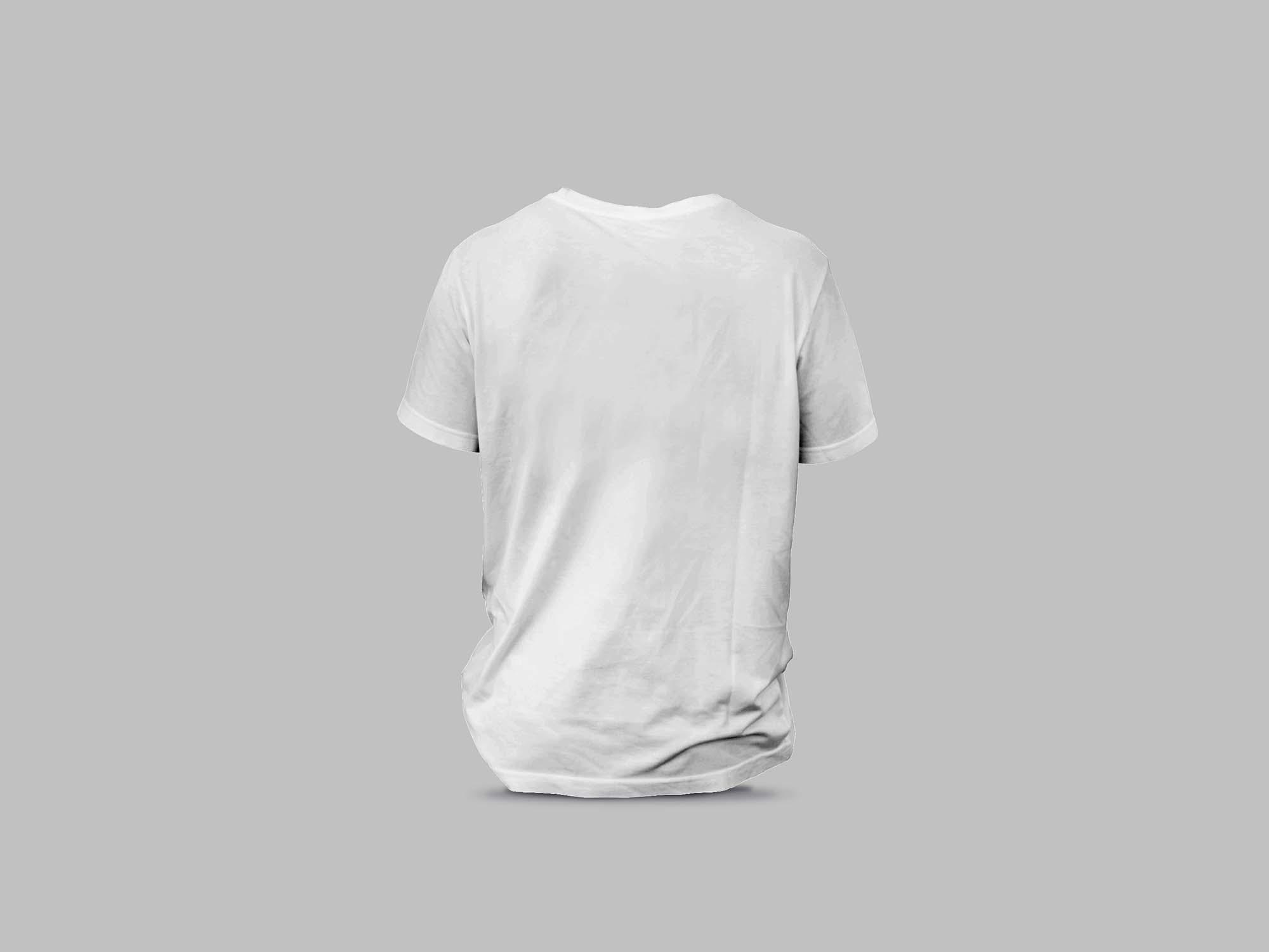 Backside T-Shirt Mockup 2