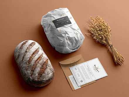 Bakery Branding Mockup