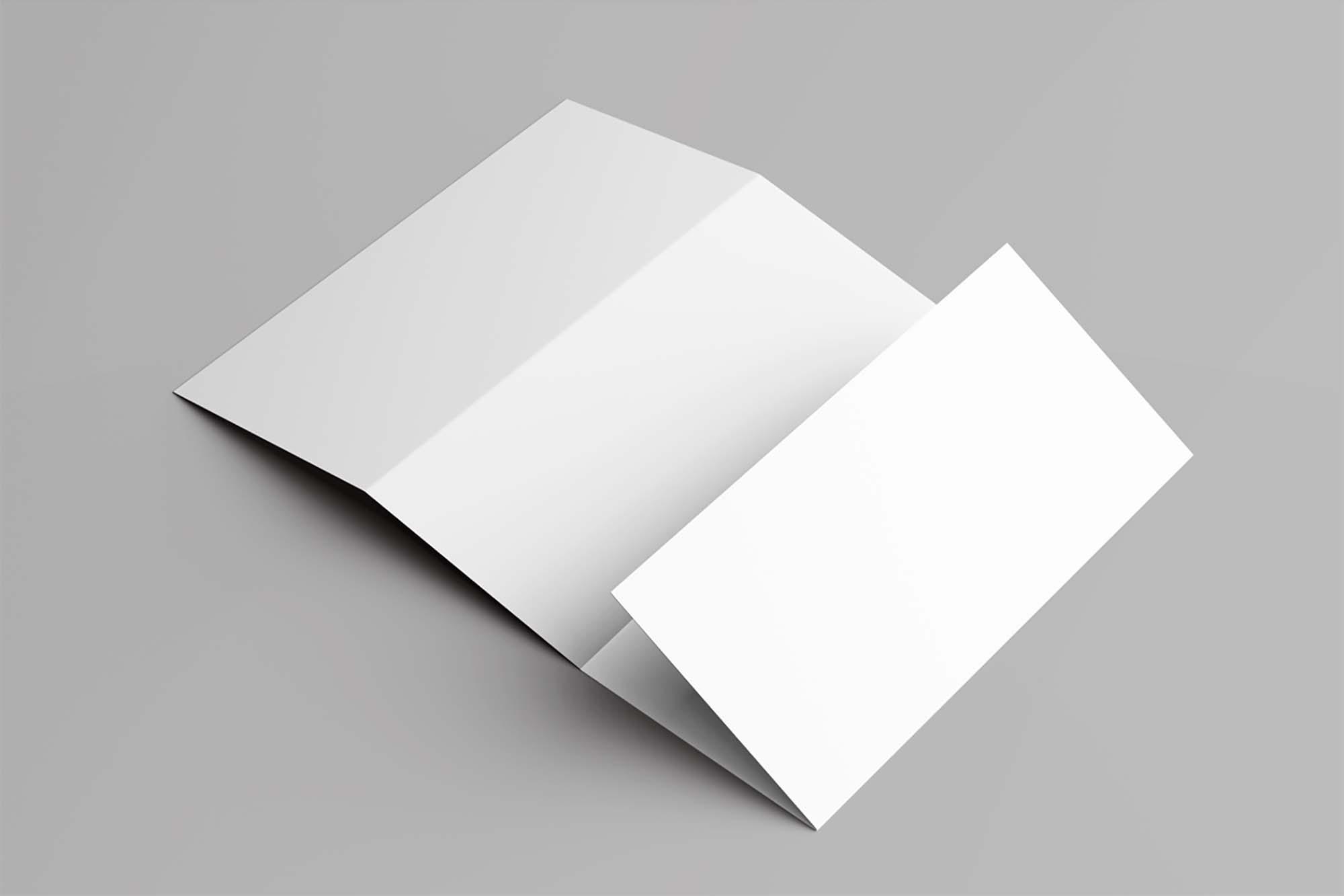 Foldable Brochure Mockup 2