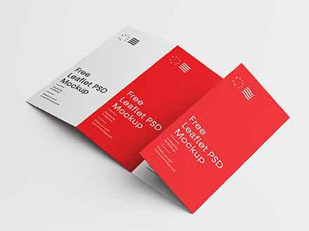 Foldable Brochure Mockup