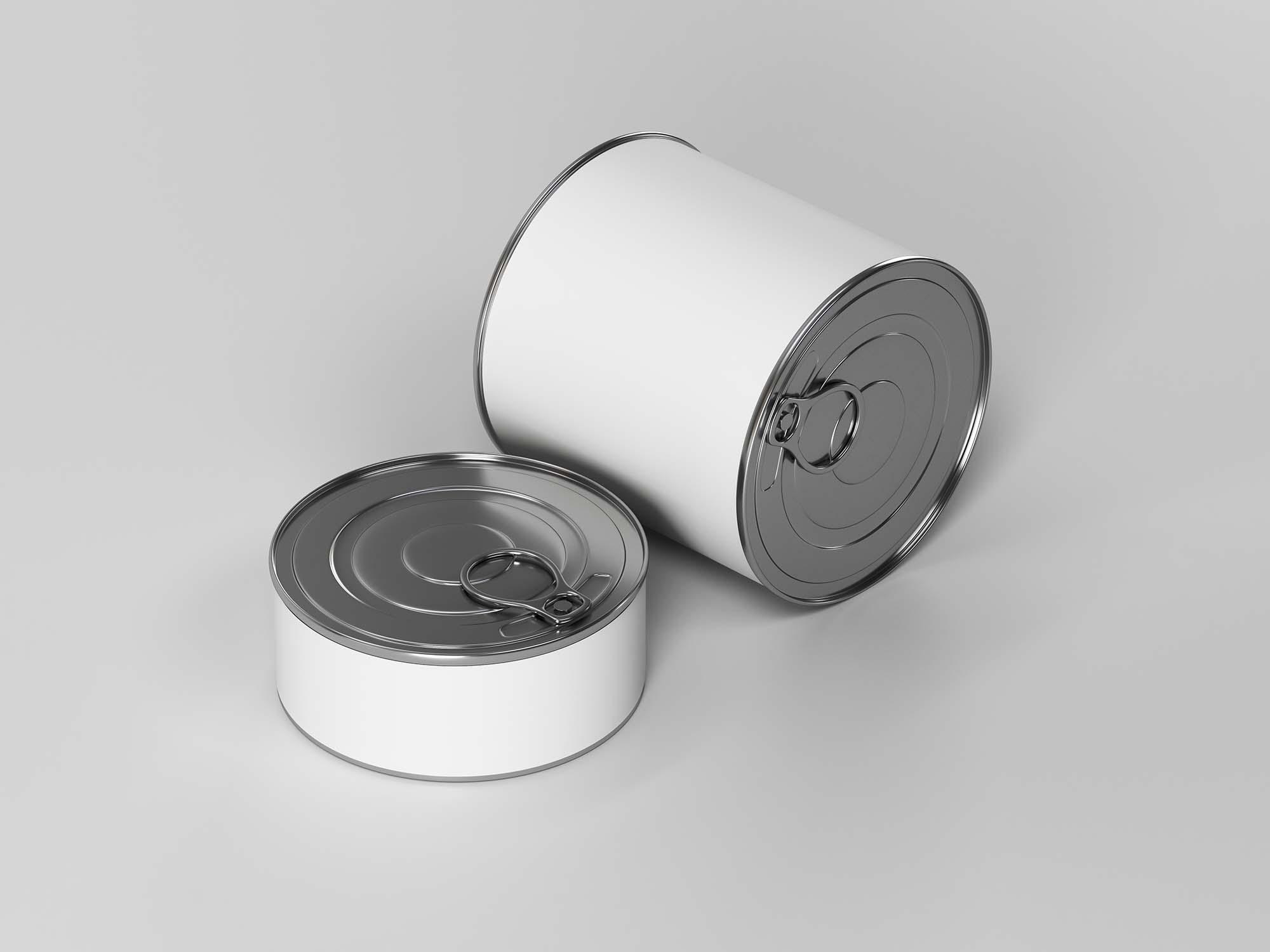 Canned Food Mockup 2