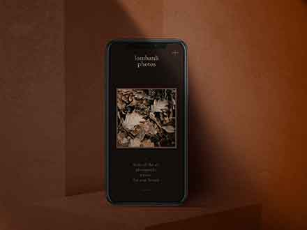 Dark Mode iPhone Mockup