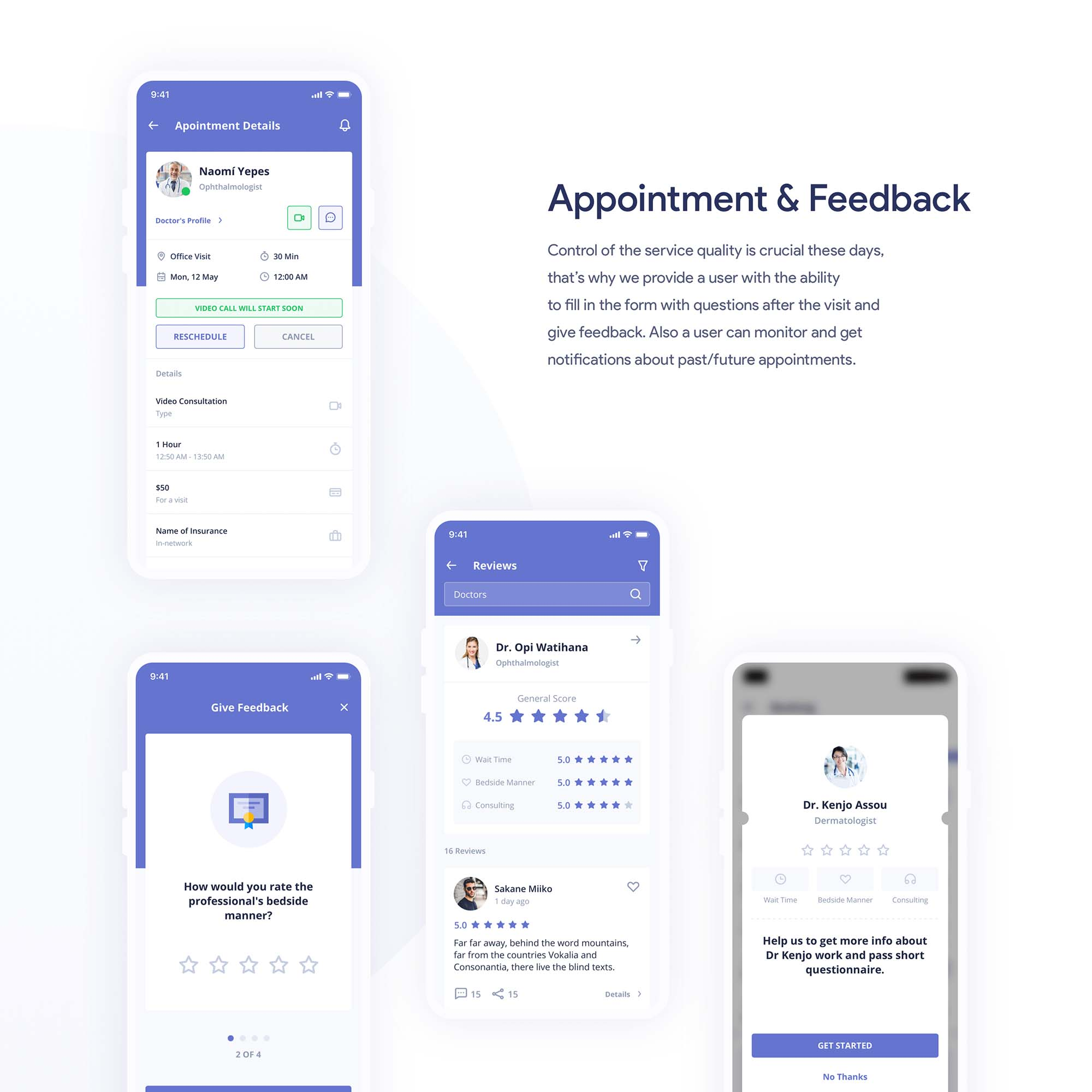 Digital Clinic UI Kit 13