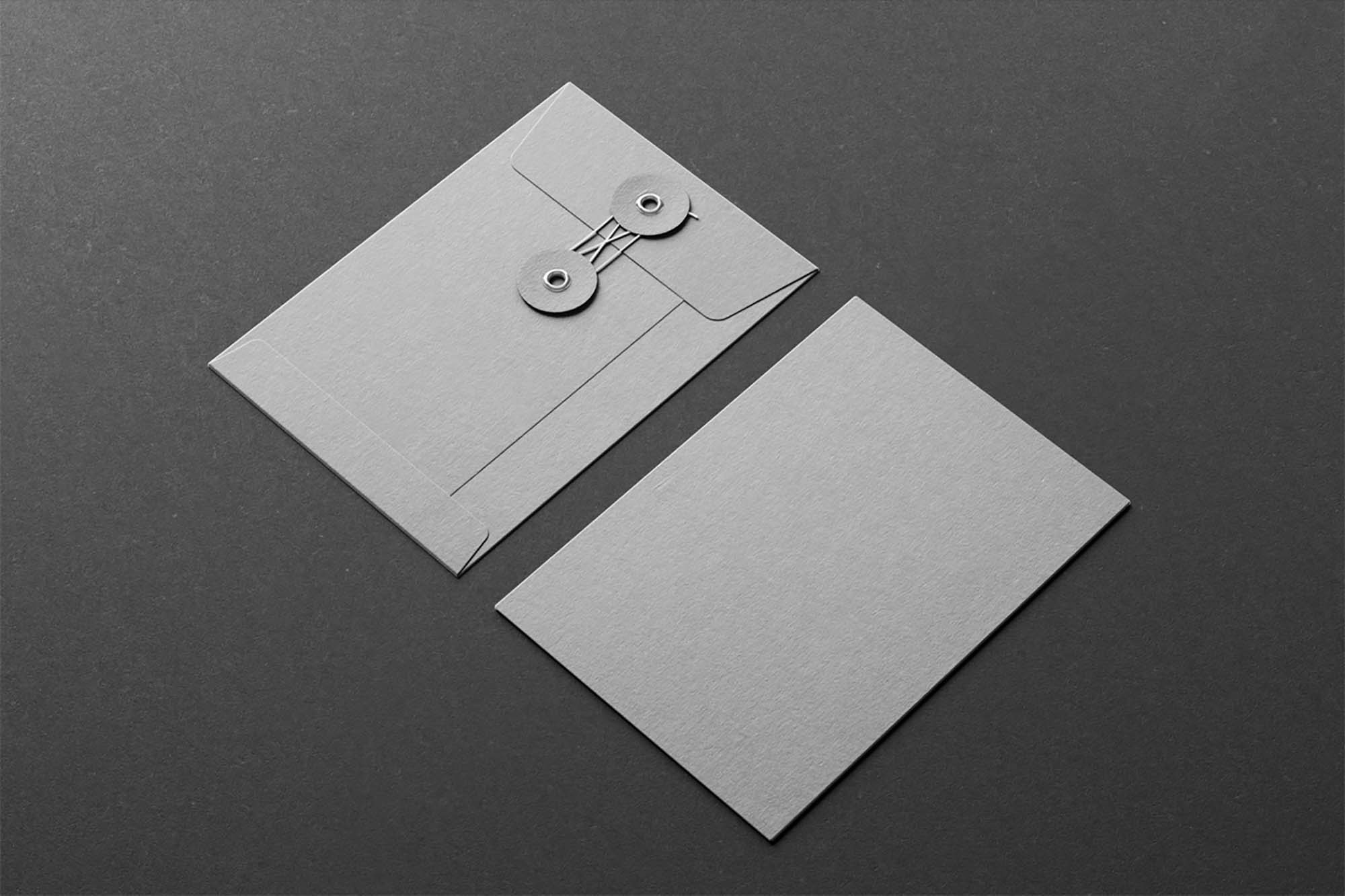 Envelope With String Mockup 2