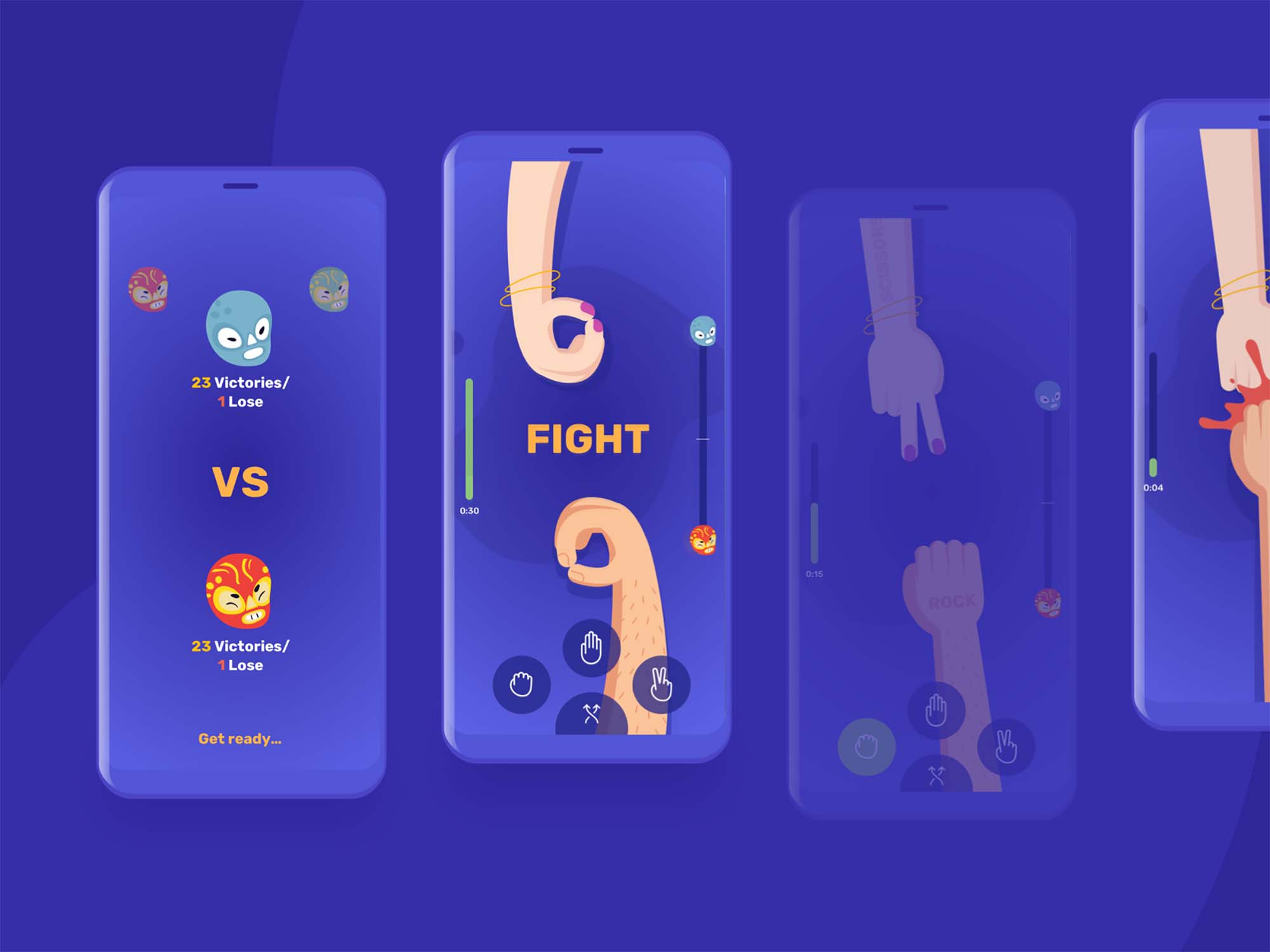 Epic Mobile Game UI Template 2