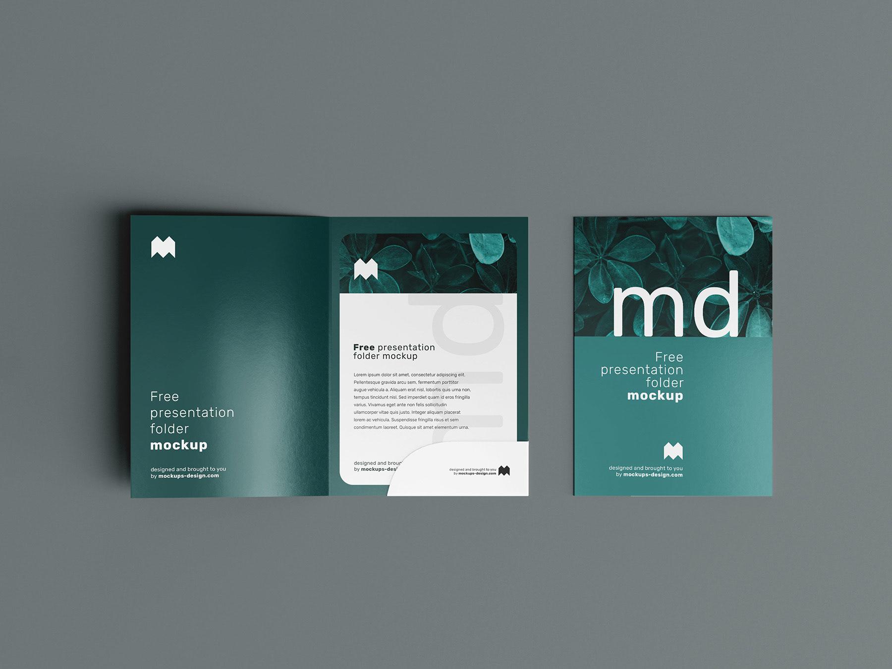 Folder Mockup 1