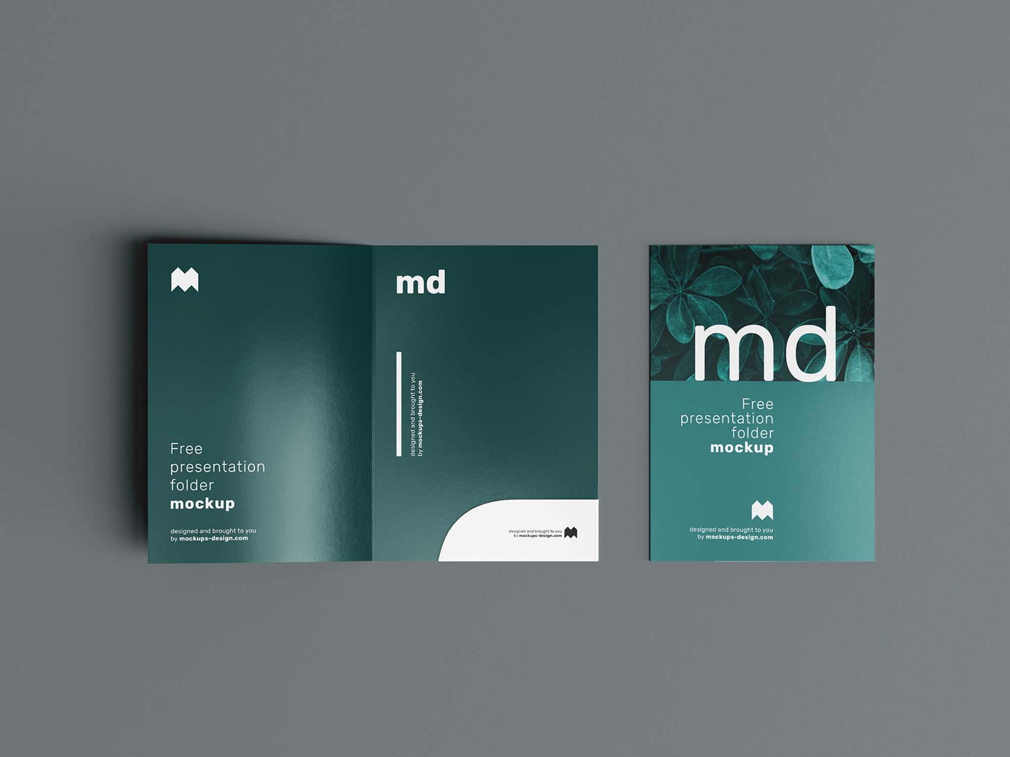 Folder Mockup 3