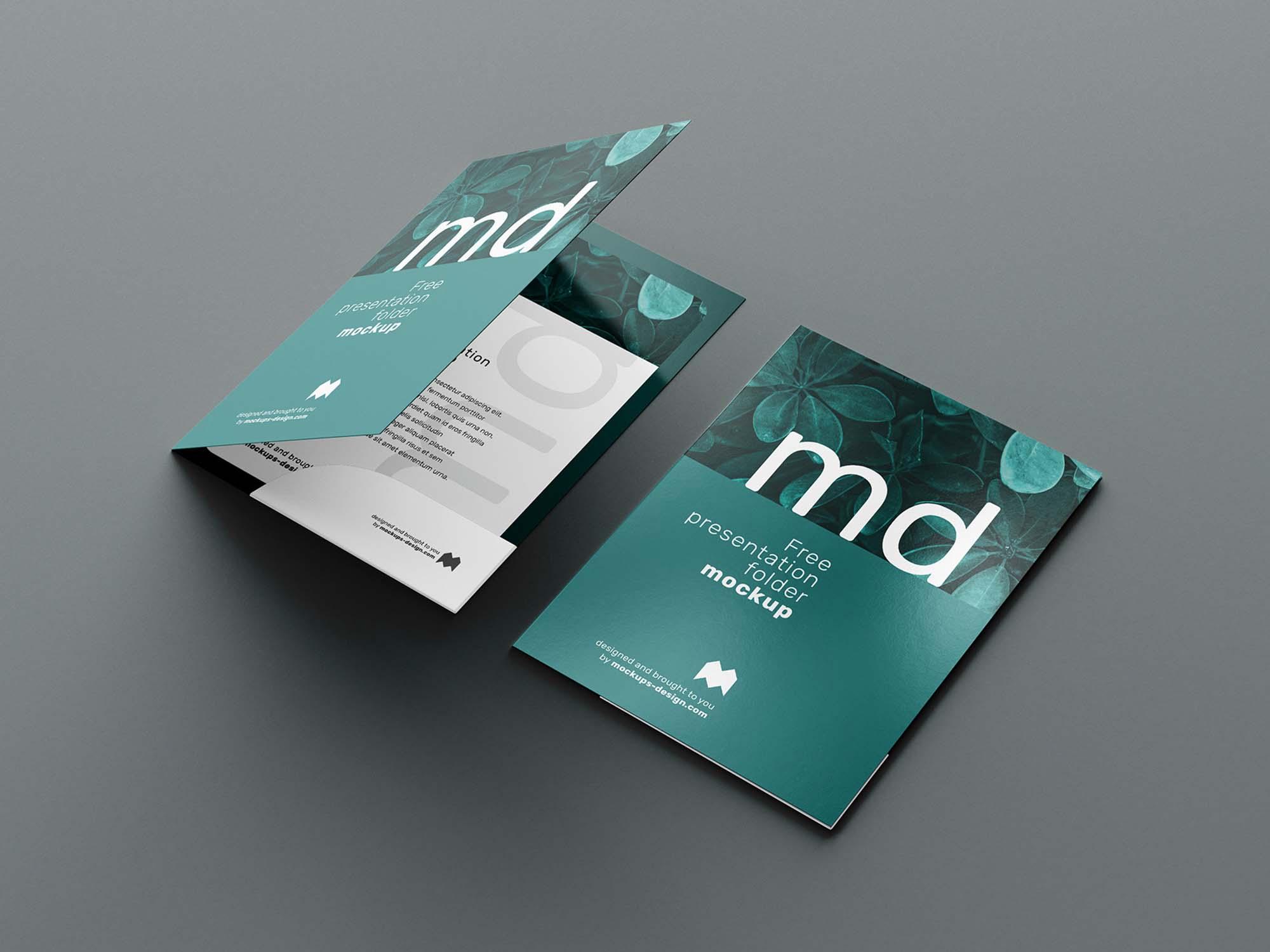 Folder Mockup 4