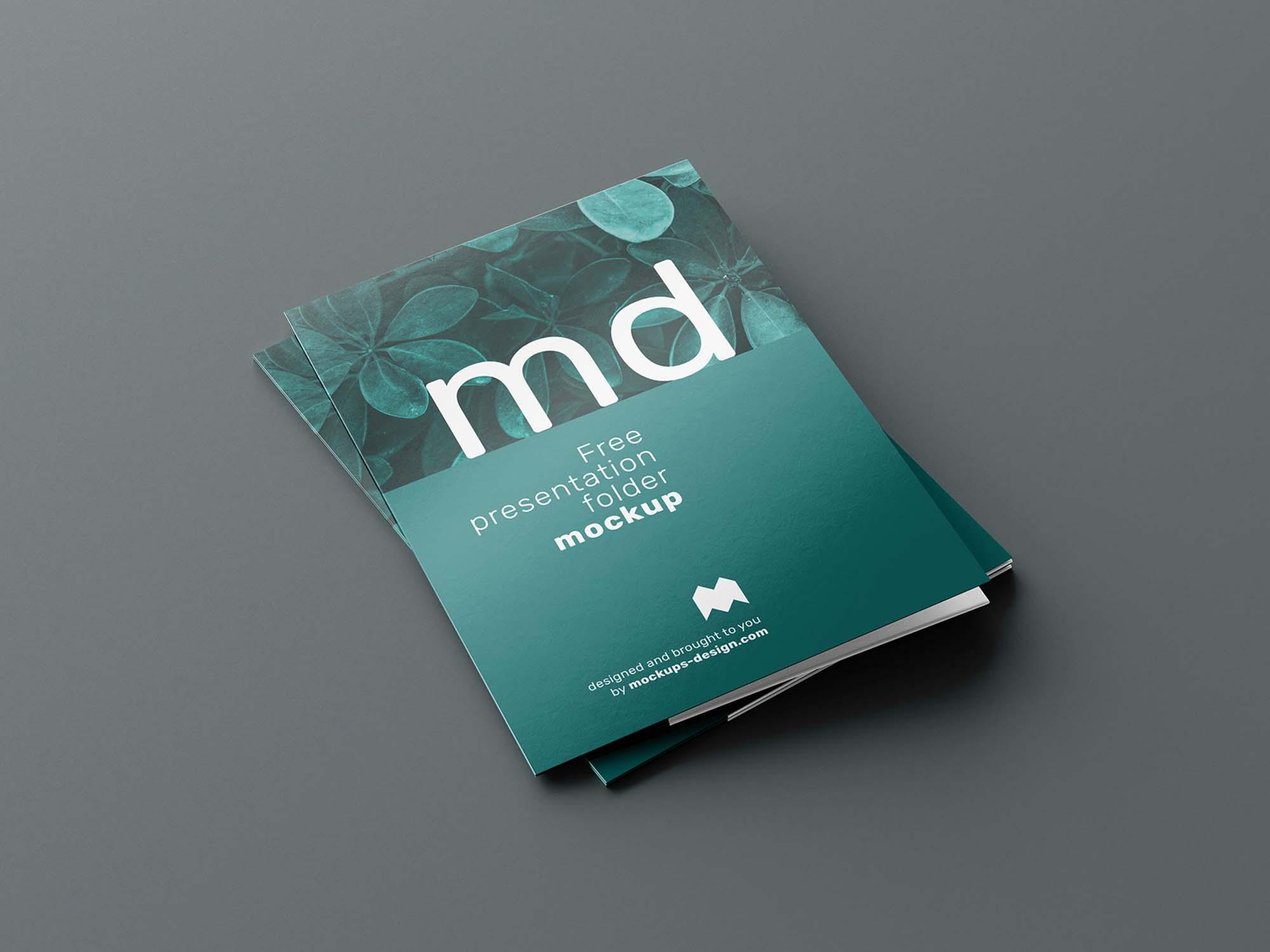 Folder Mockup 5