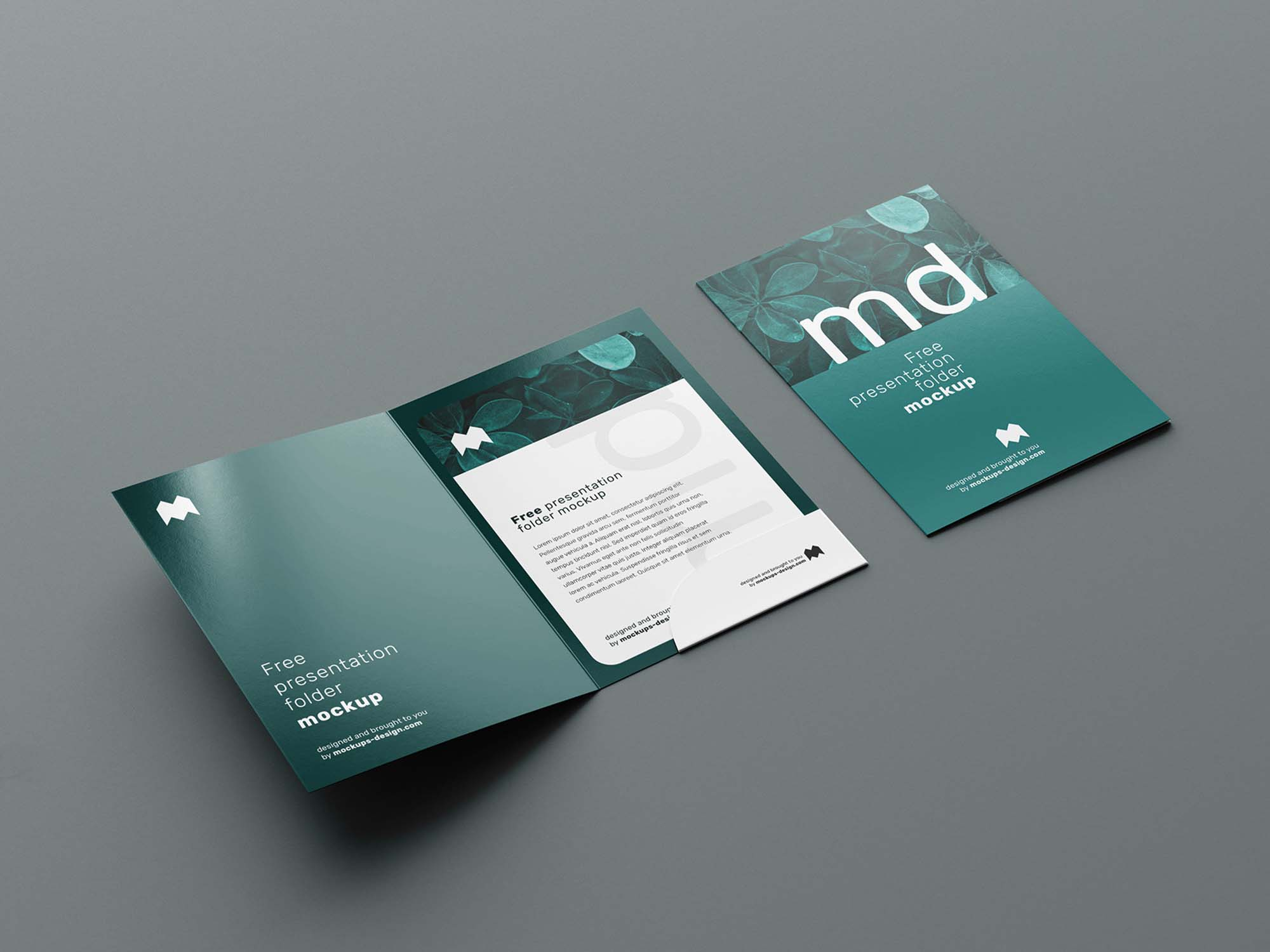Folder Mockup 6