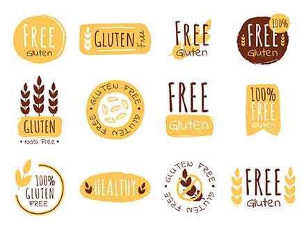 Gluten Stickers