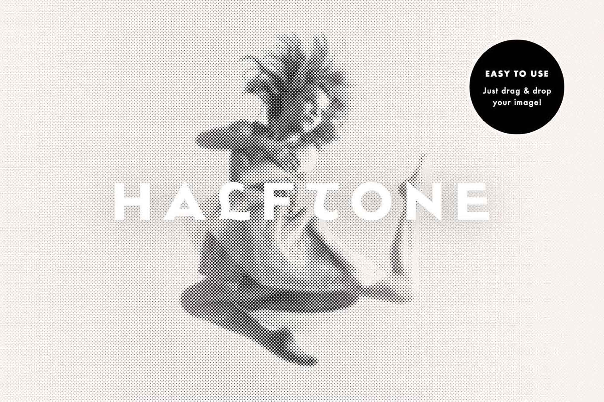 Halftone Photoshop Effect