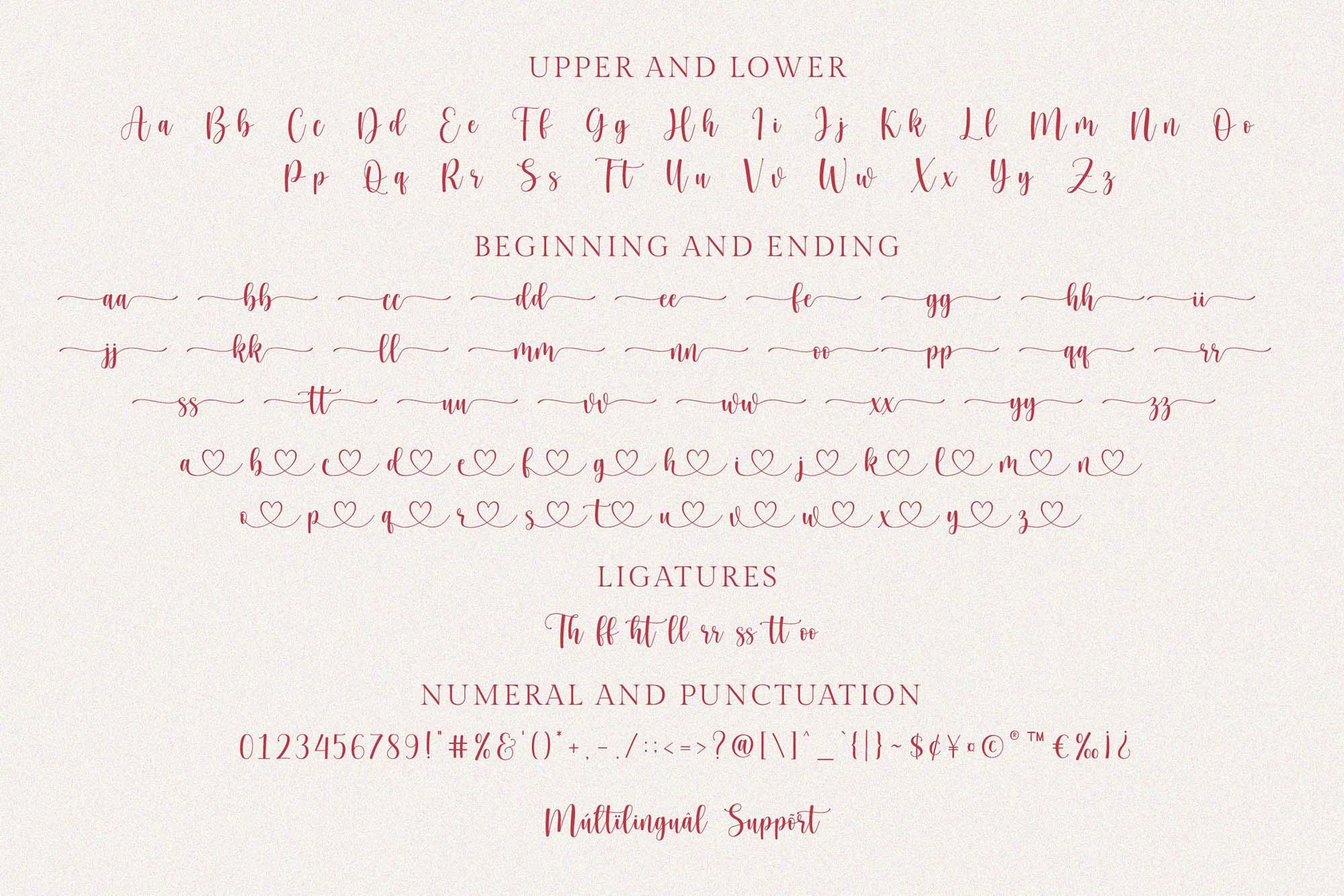 Hello Honey Script Font 5