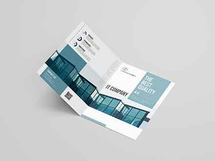 IT Company Brochure Template