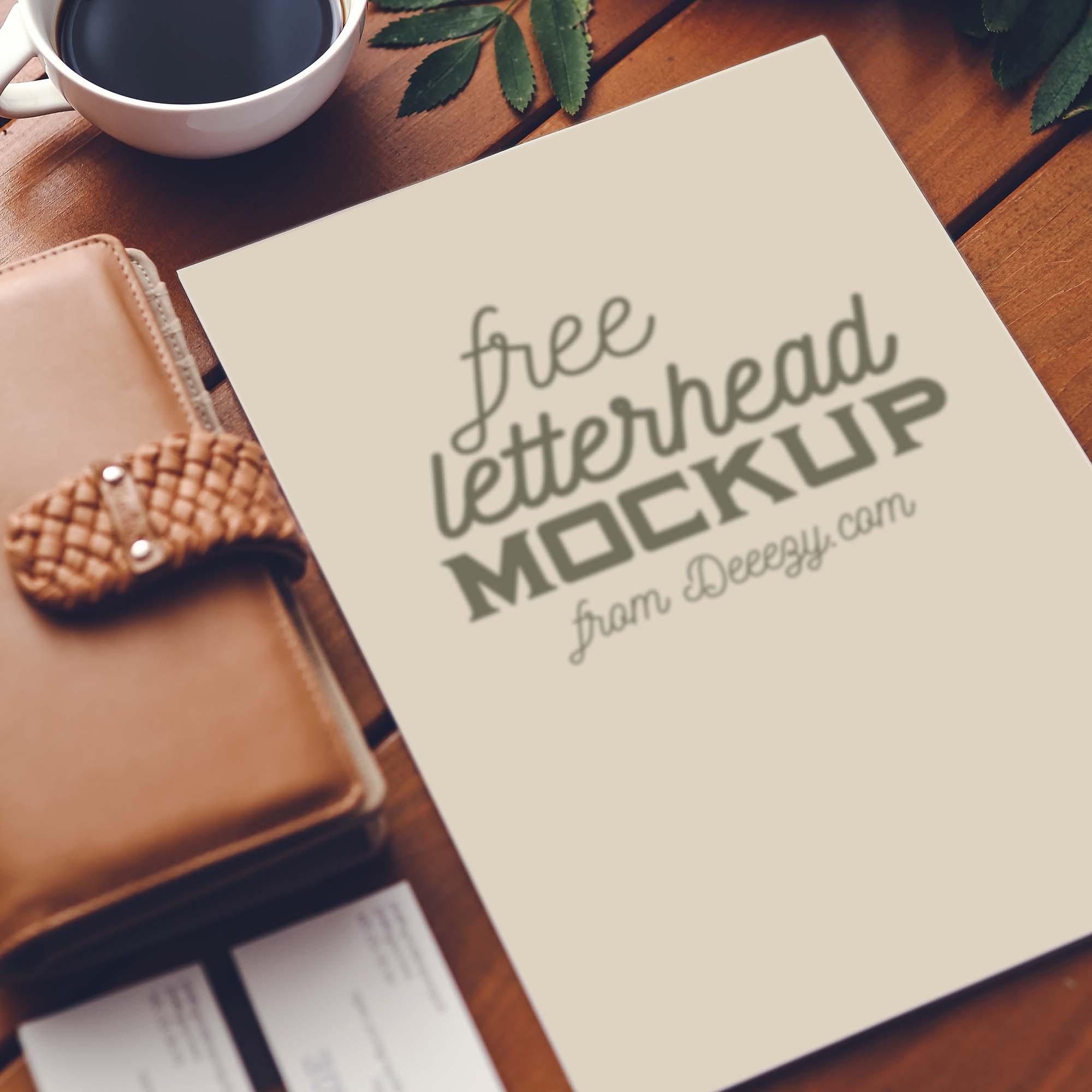 Letterhead Mockup 2