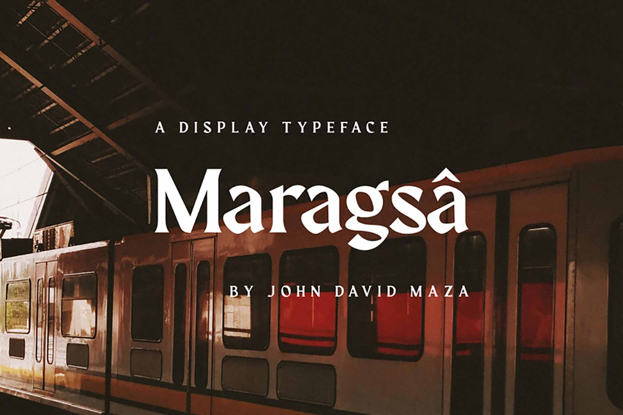 Maragsa Display Typeface