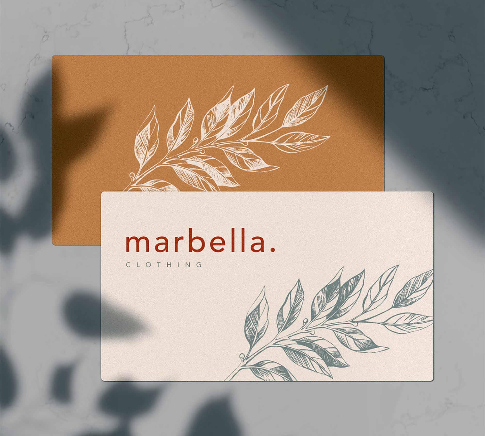 Marbella Stationery Mockup 2