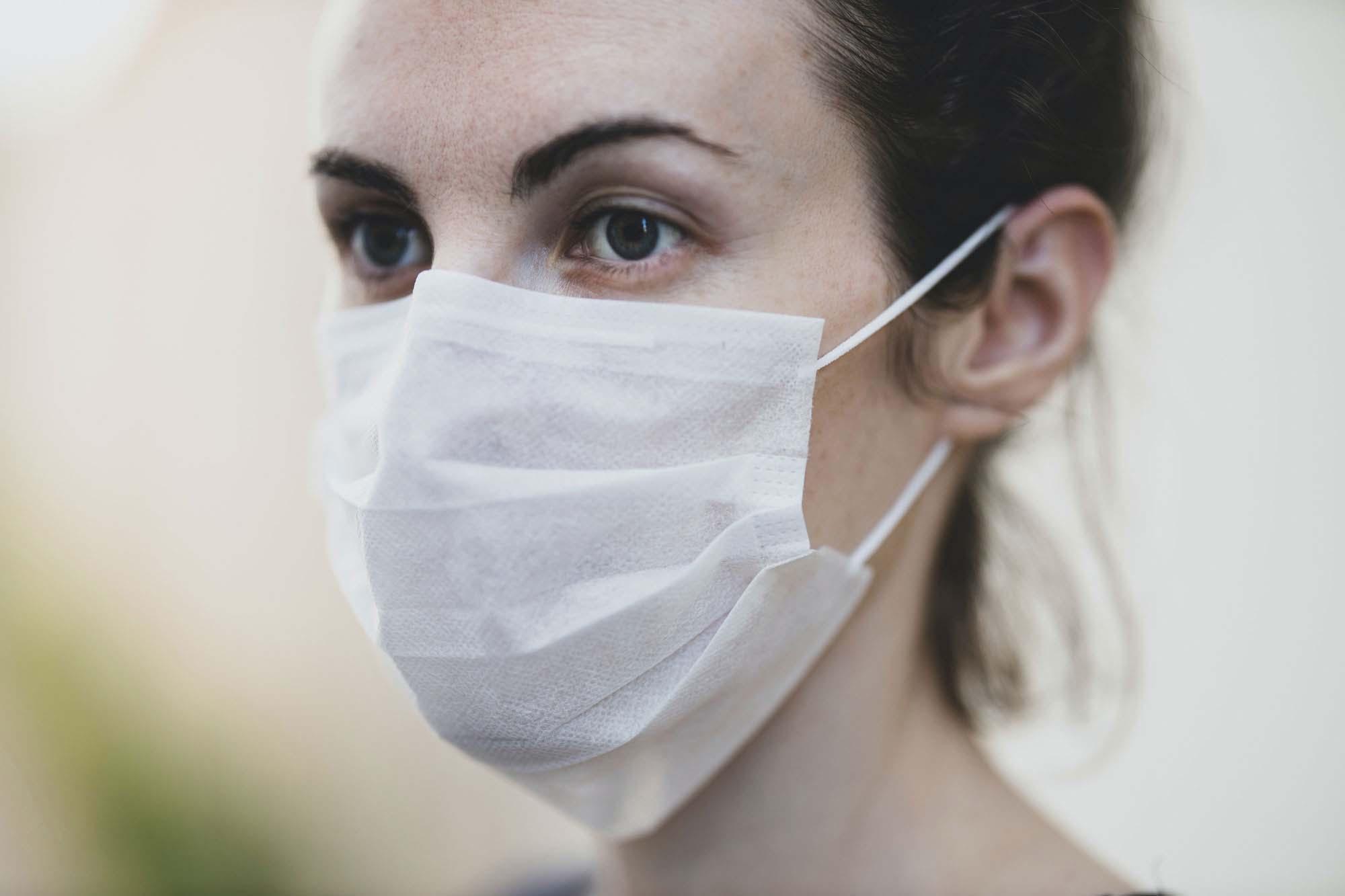 Medical Mask Mockup 2