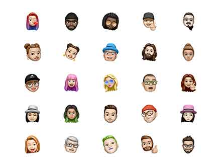 Memoji Avatar Pack