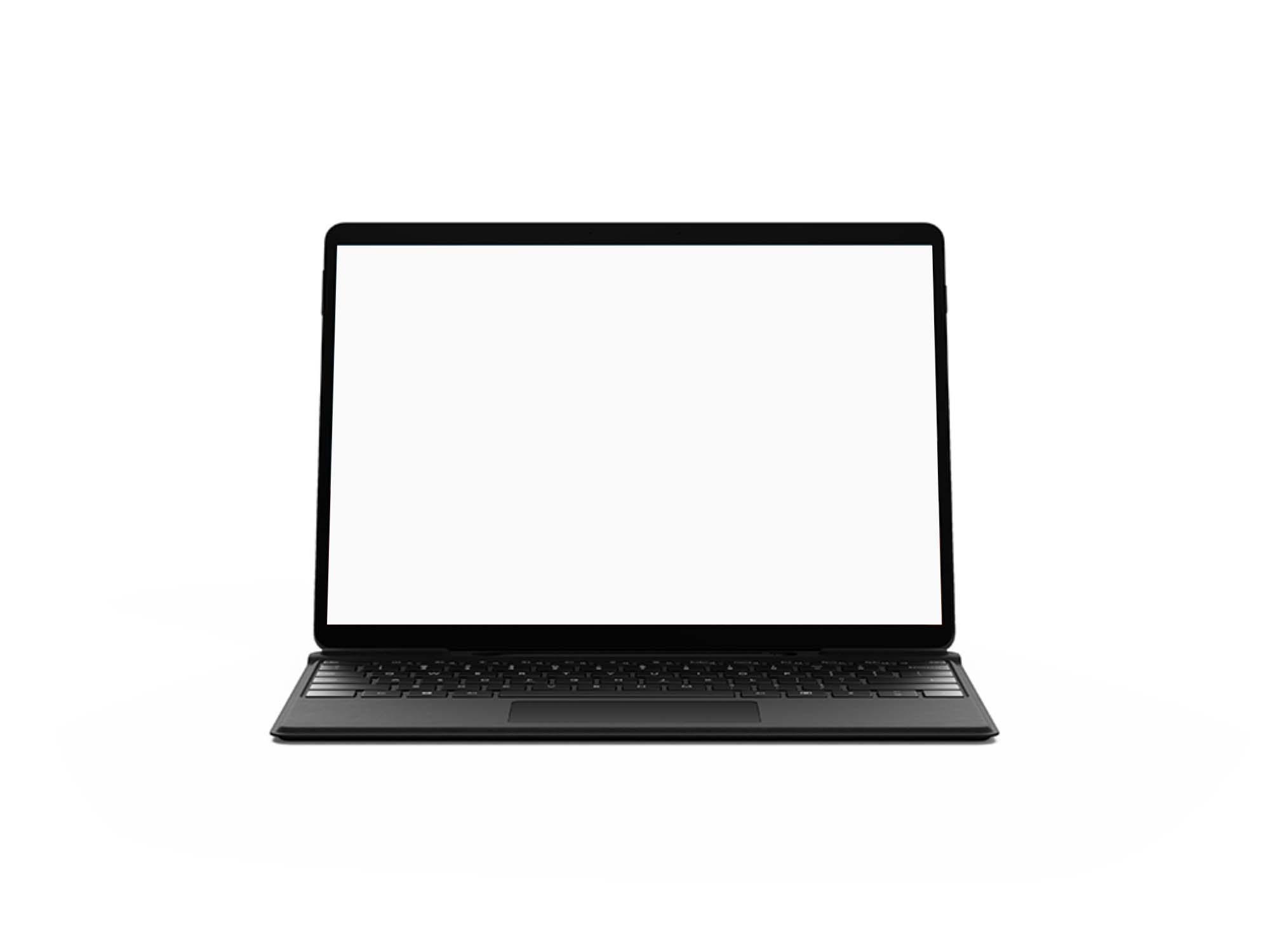 Microsoft Surface Pro X Mockup 2