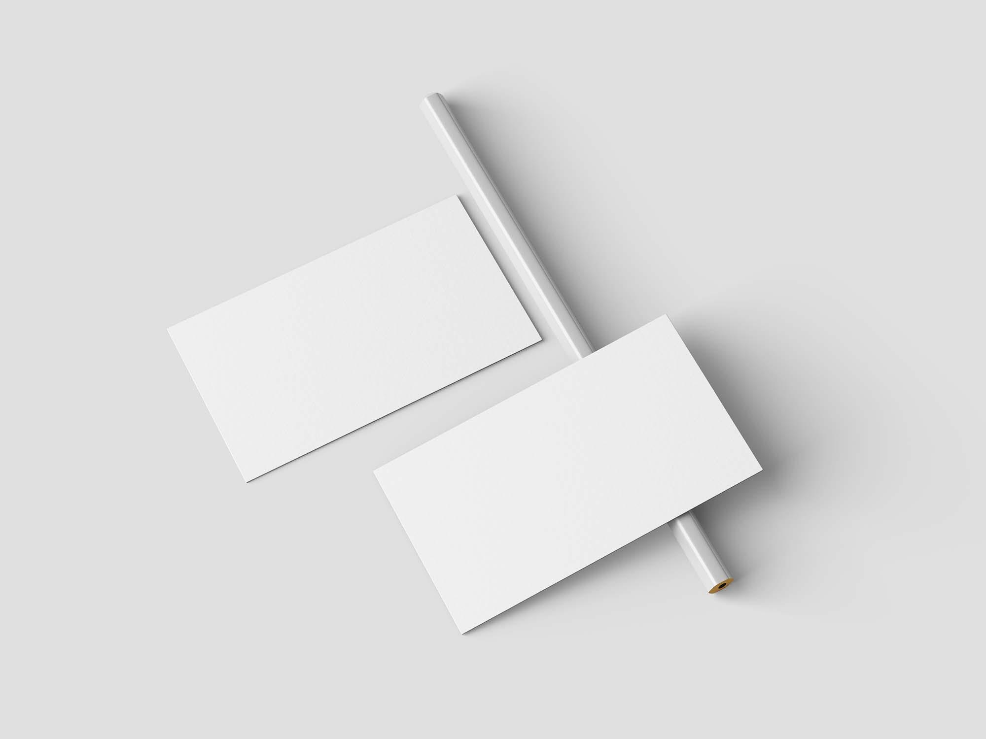 Minimalist Business Card Mockup 3