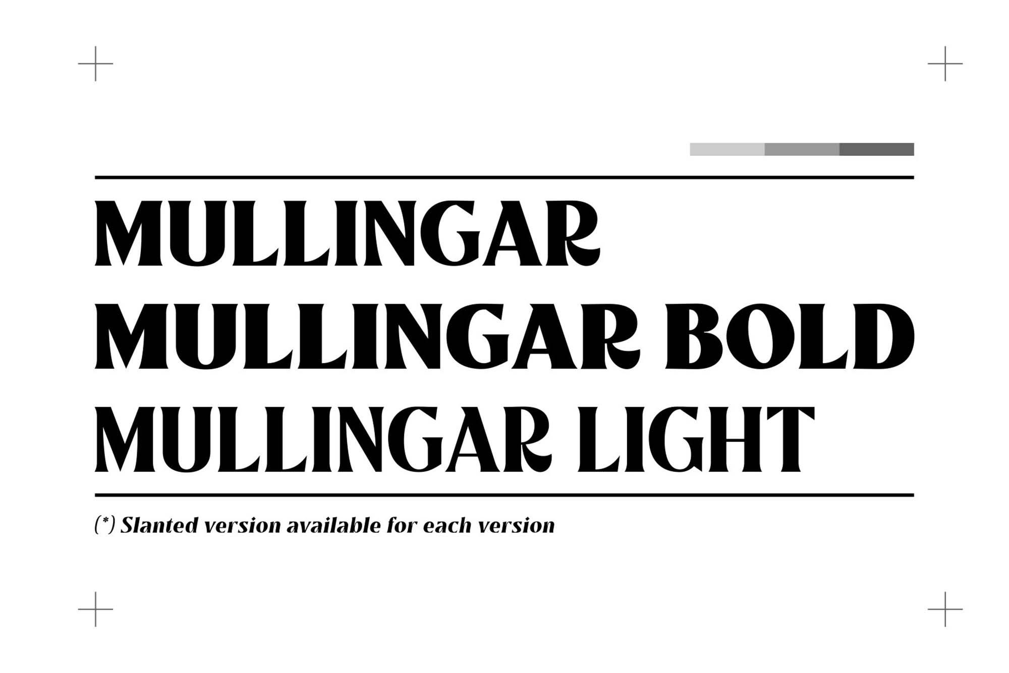 Mullingar Serif Font 1