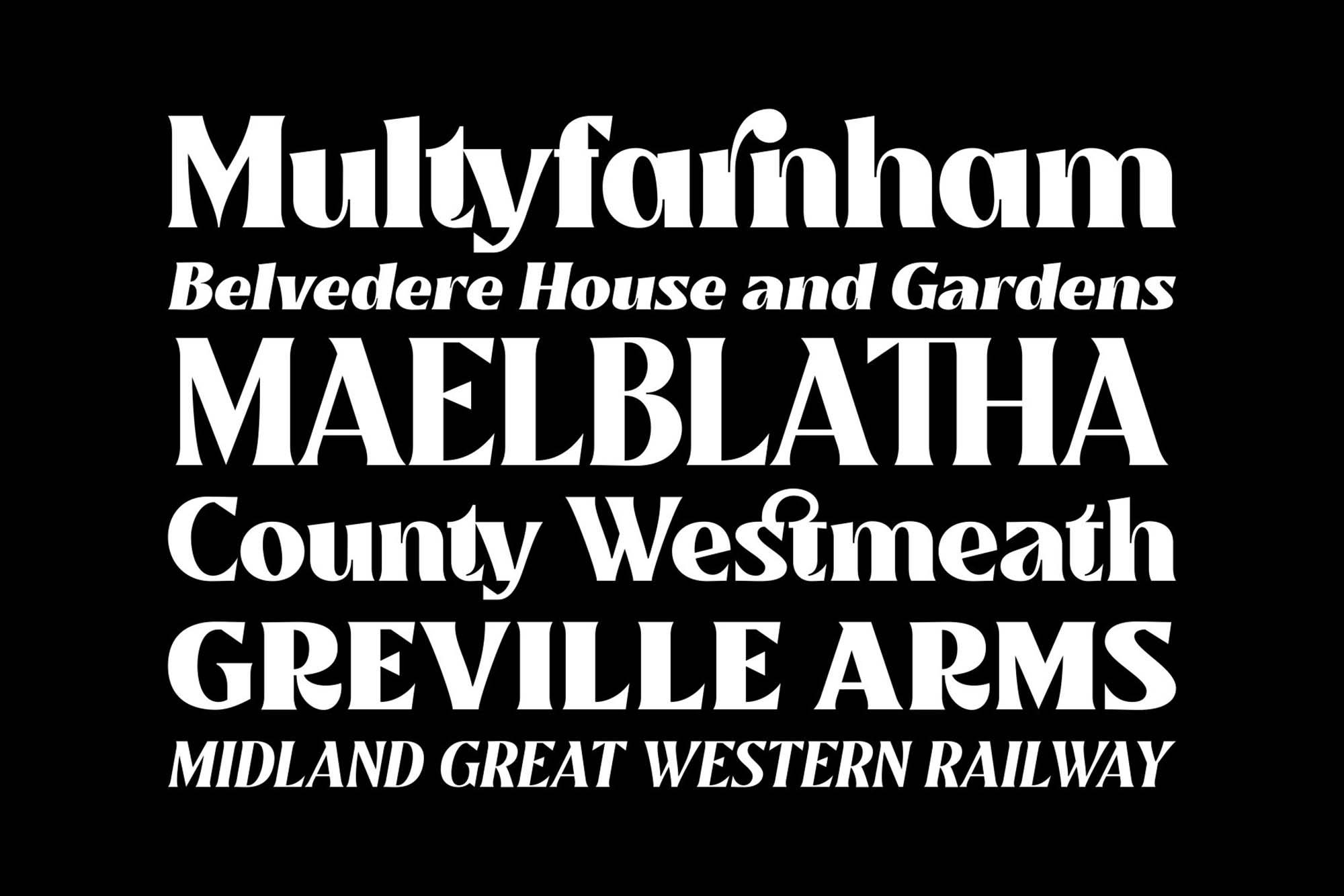 Mullingar Serif Font 2