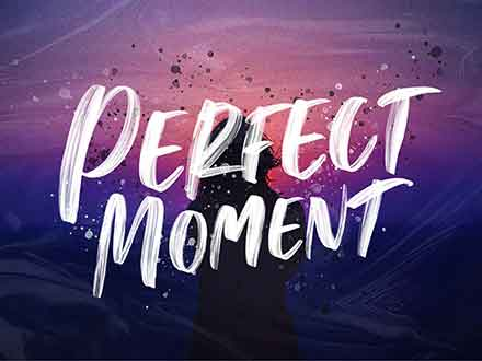 Perfect Moment Handwritten Font