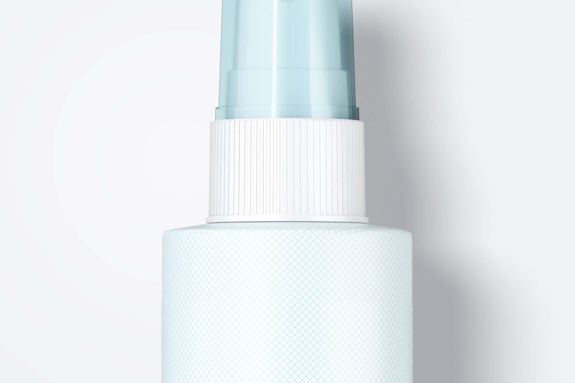 Pump Spray Bottle Mockup 3