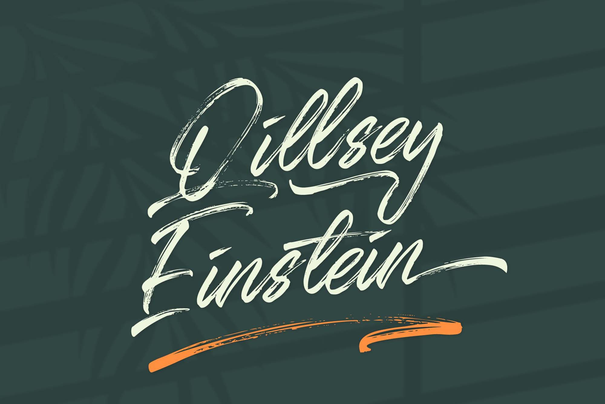 Qillsey Einstein Font 10
