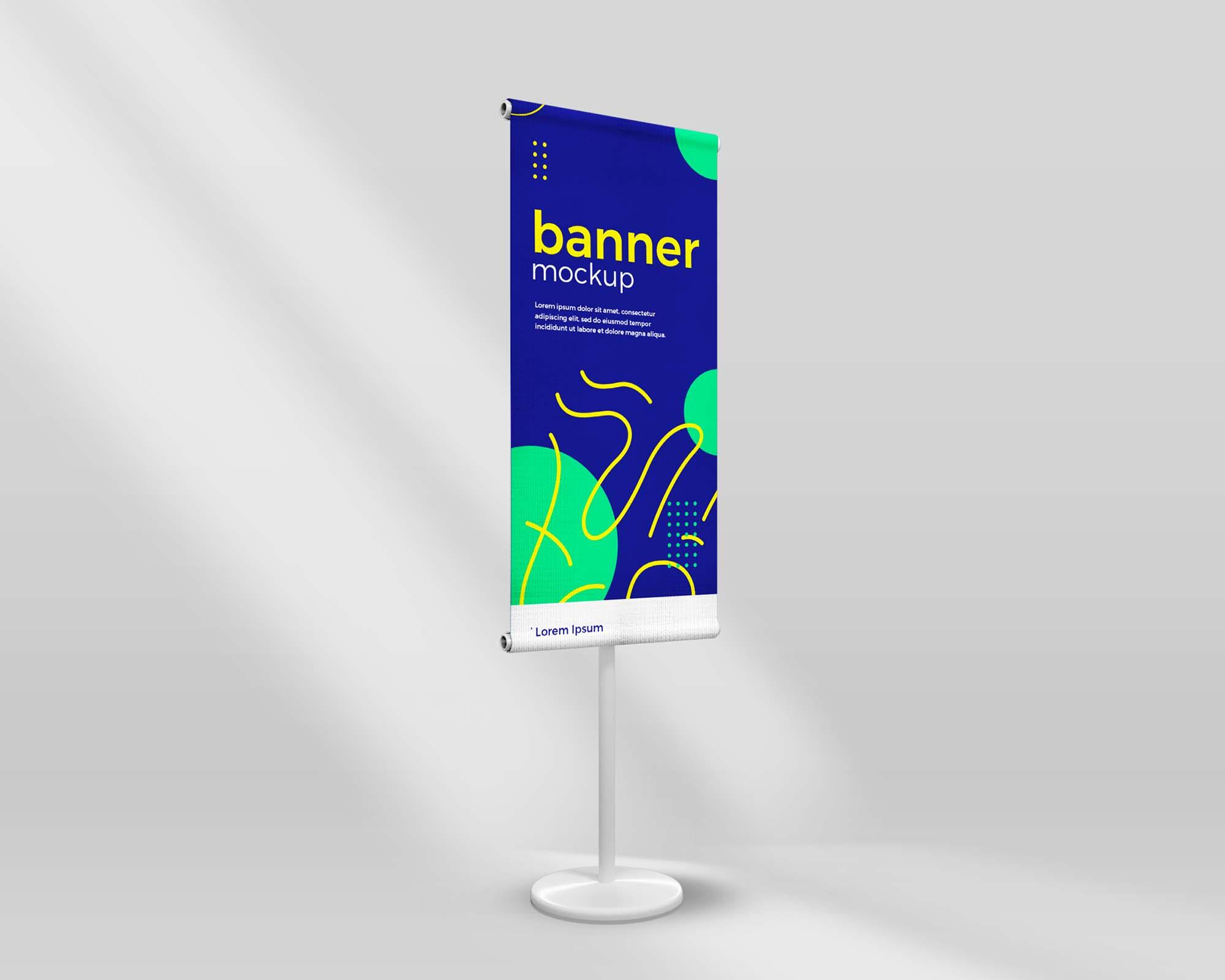 Standing Banner Mockup