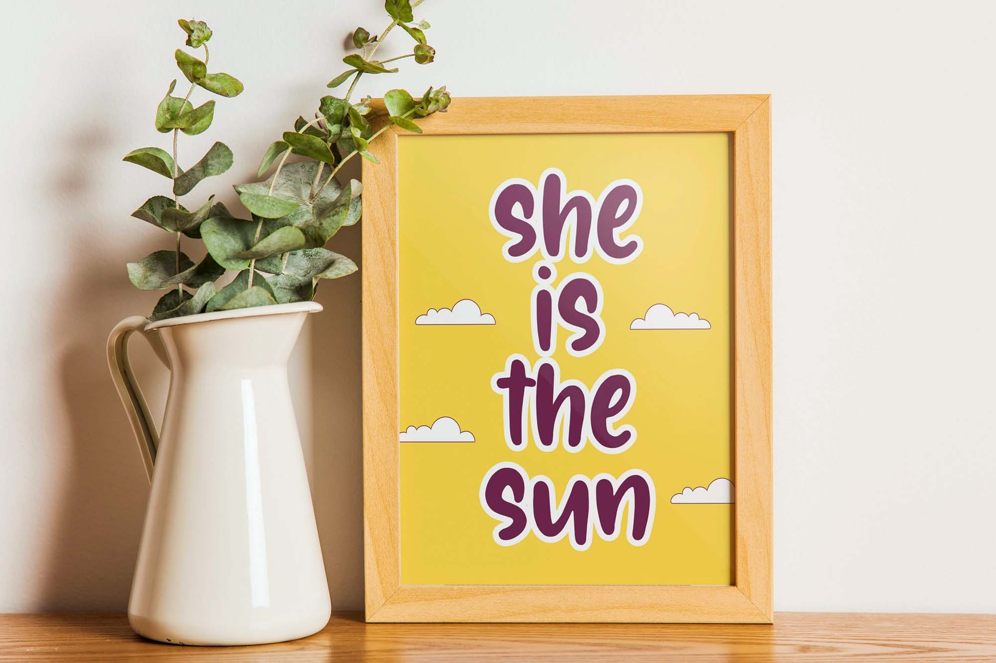Sunglory Lovely Font 1