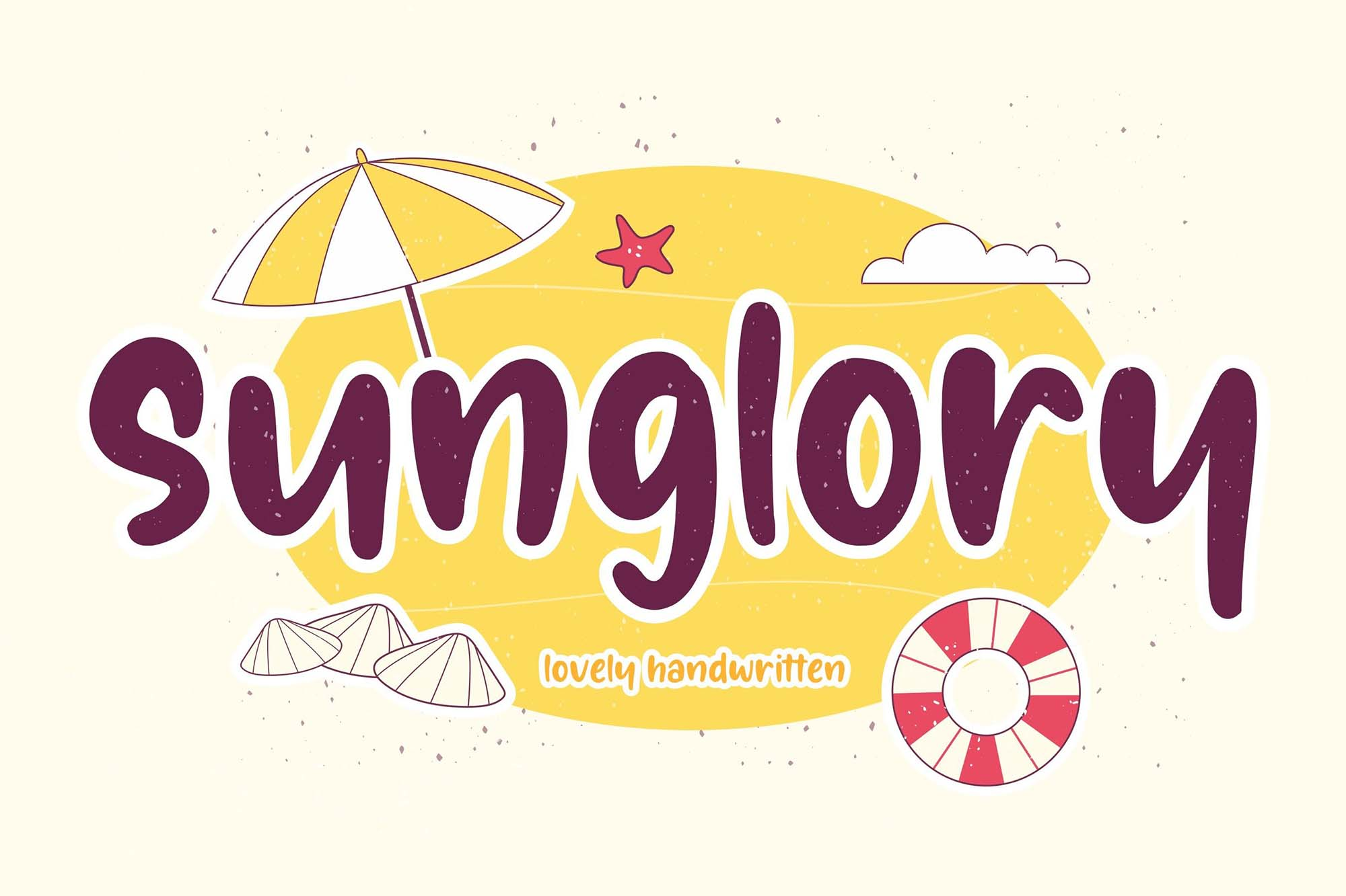 Sunglory Lovely Font