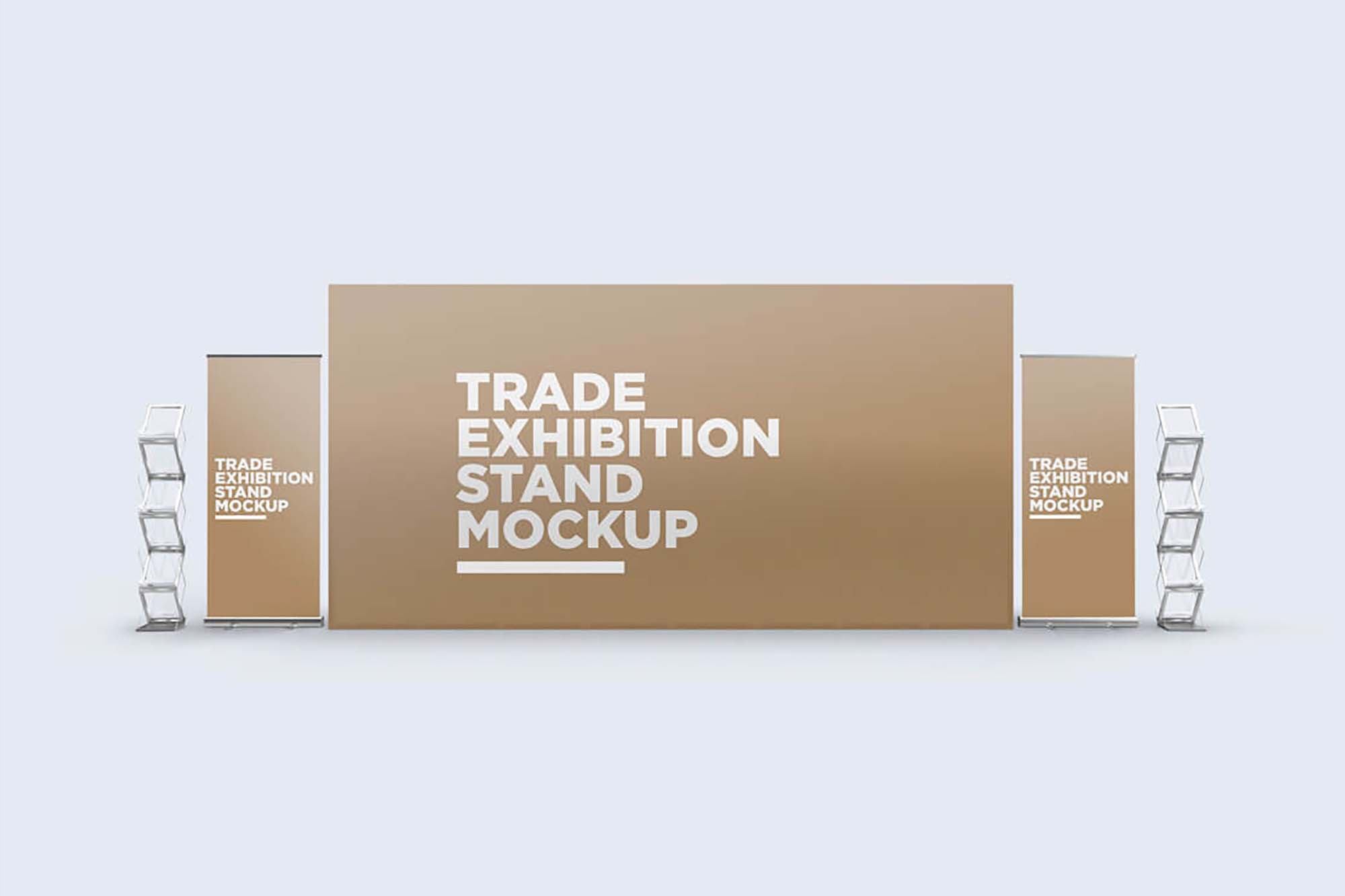 Trade Exhibition Stand Mockup