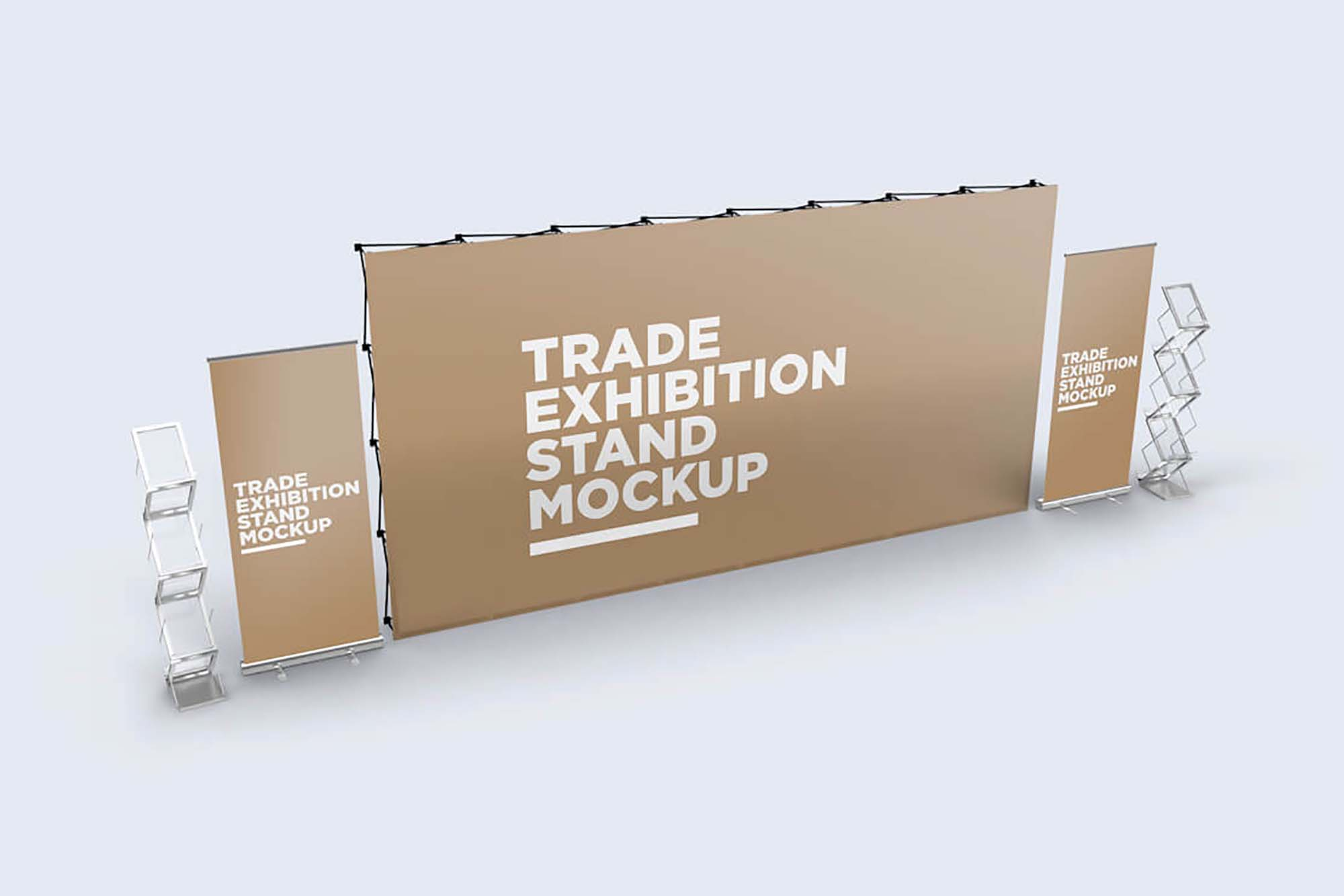 Trade Exhibition Stand Mockup 2