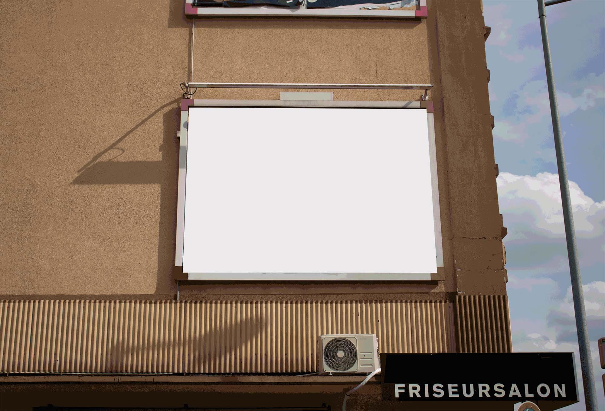 Urban Billboard Mockup 2
