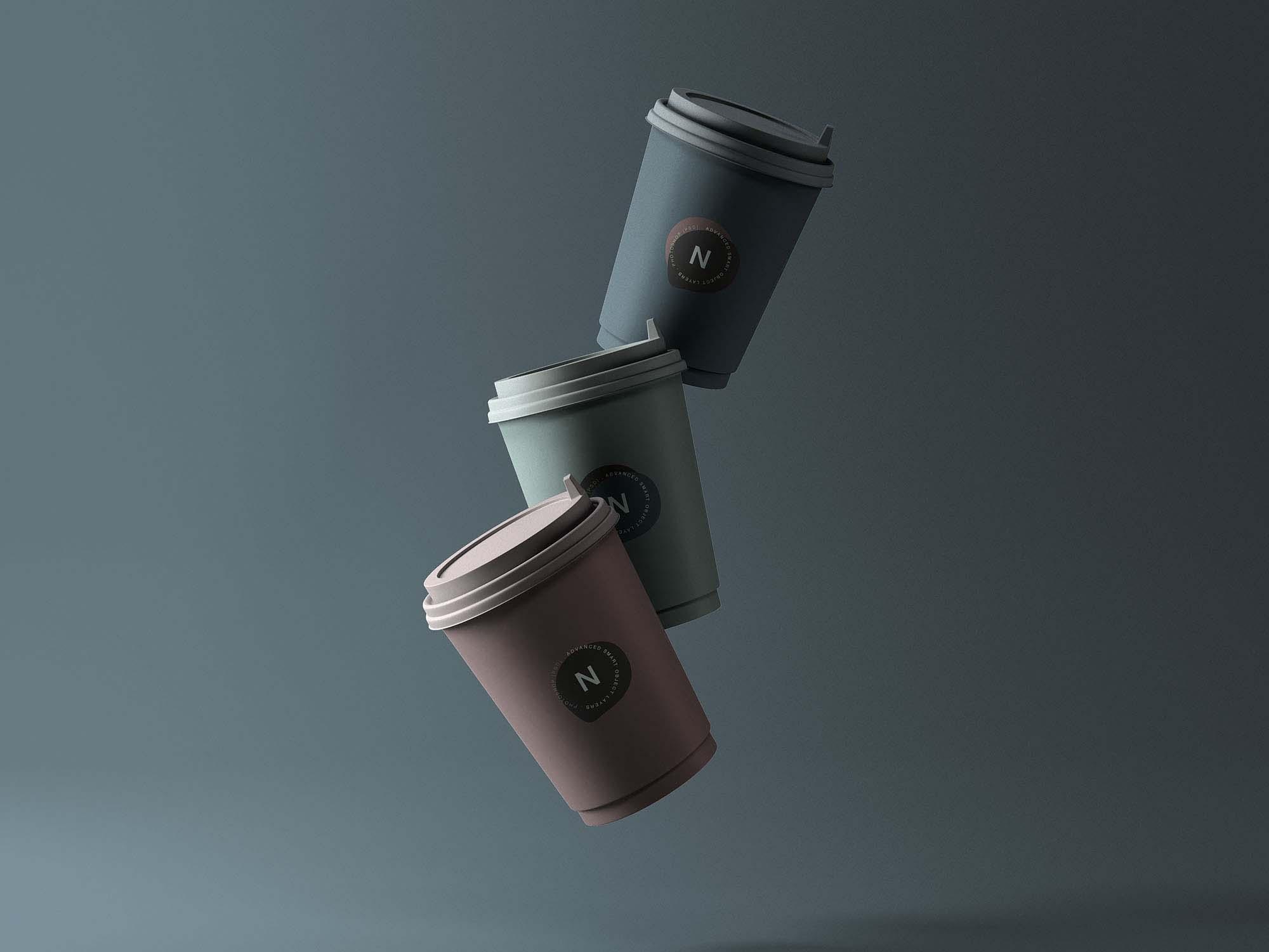 3 Coffee Cup Mockups 2