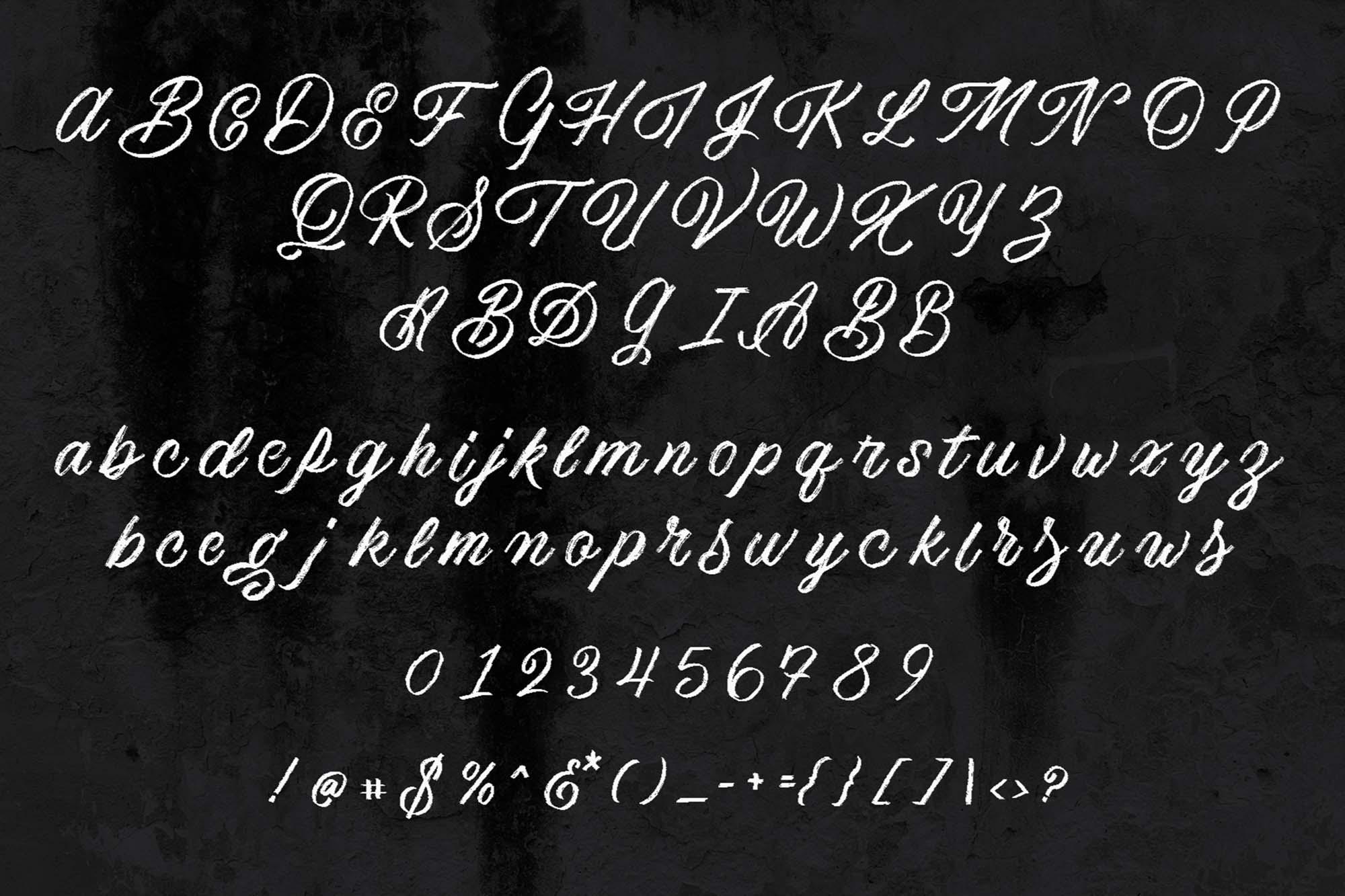 America Script Font 2