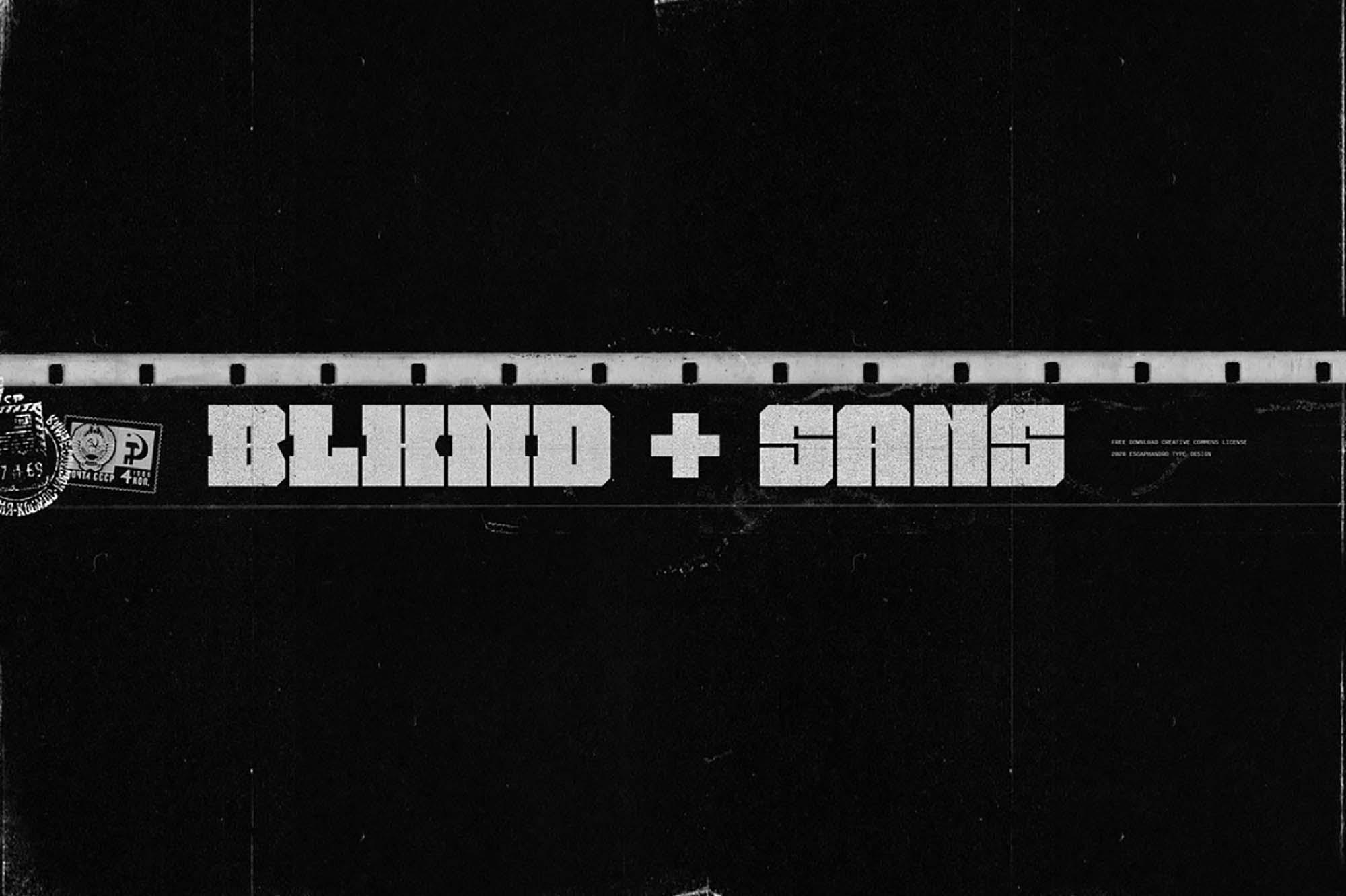 BLKND Display Font
