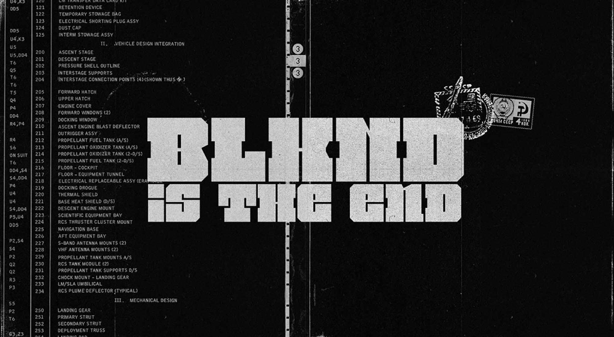 BLKND Display Font 7
