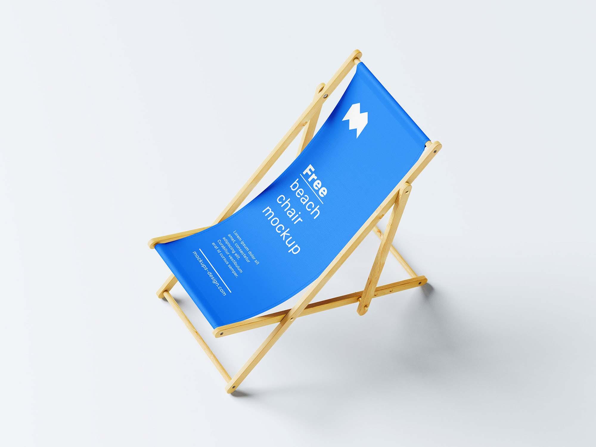 Beach Chair Mockup 1
