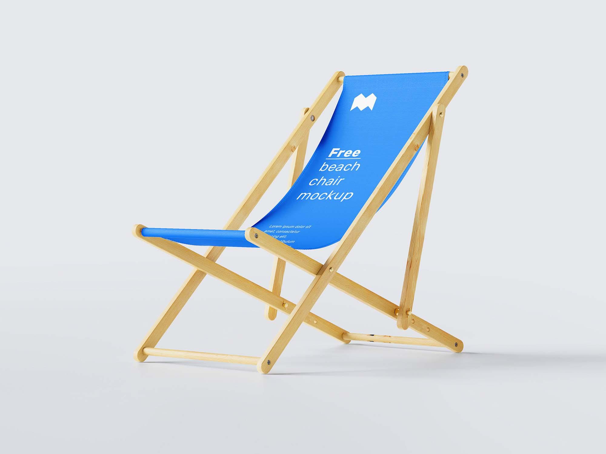 Beach Chair Mockup 2