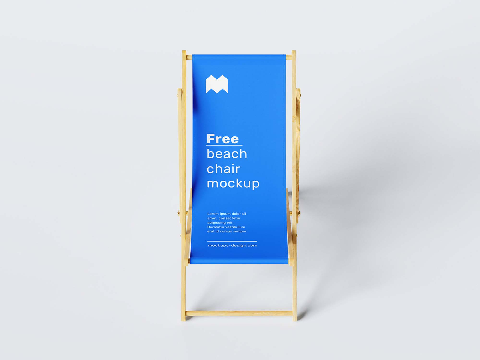 Beach Chair Mockup 3