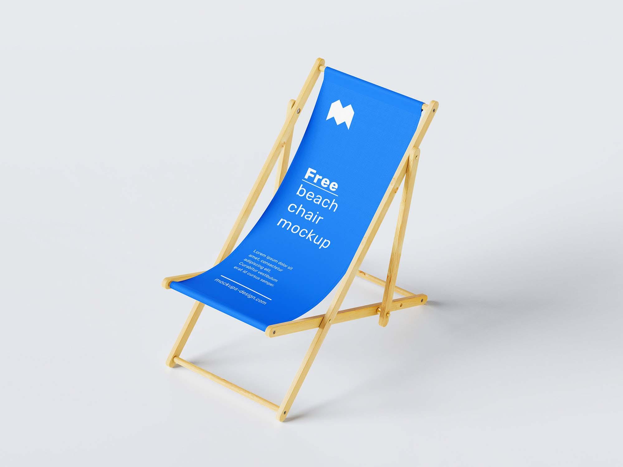 Beach Chair Mockup