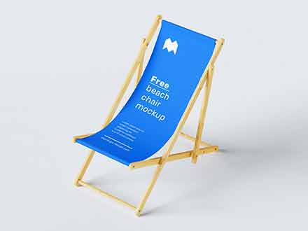 Beach Chair Mockup