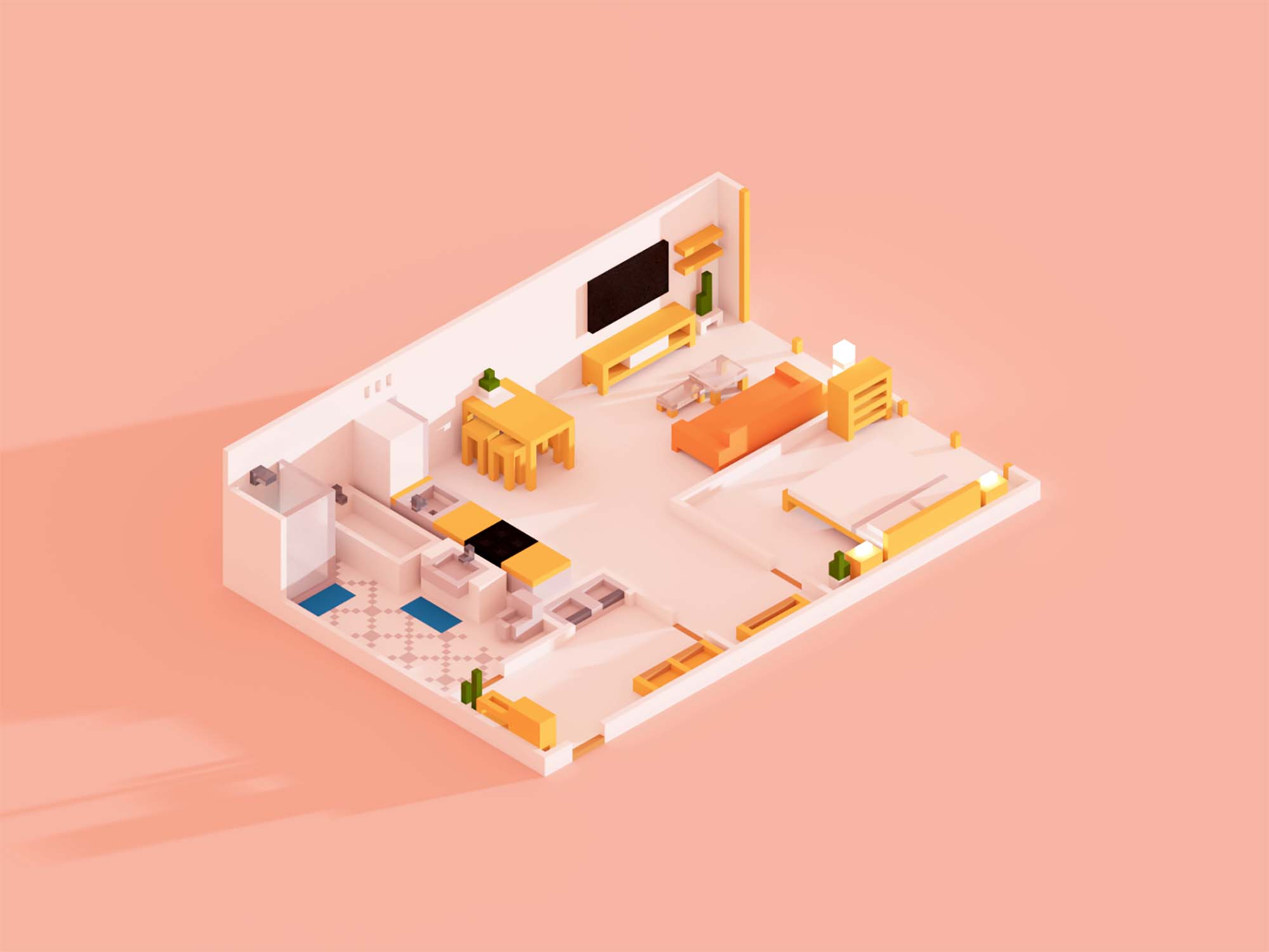Browsing Apartments Website Template 3