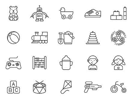 Child Vector Icons