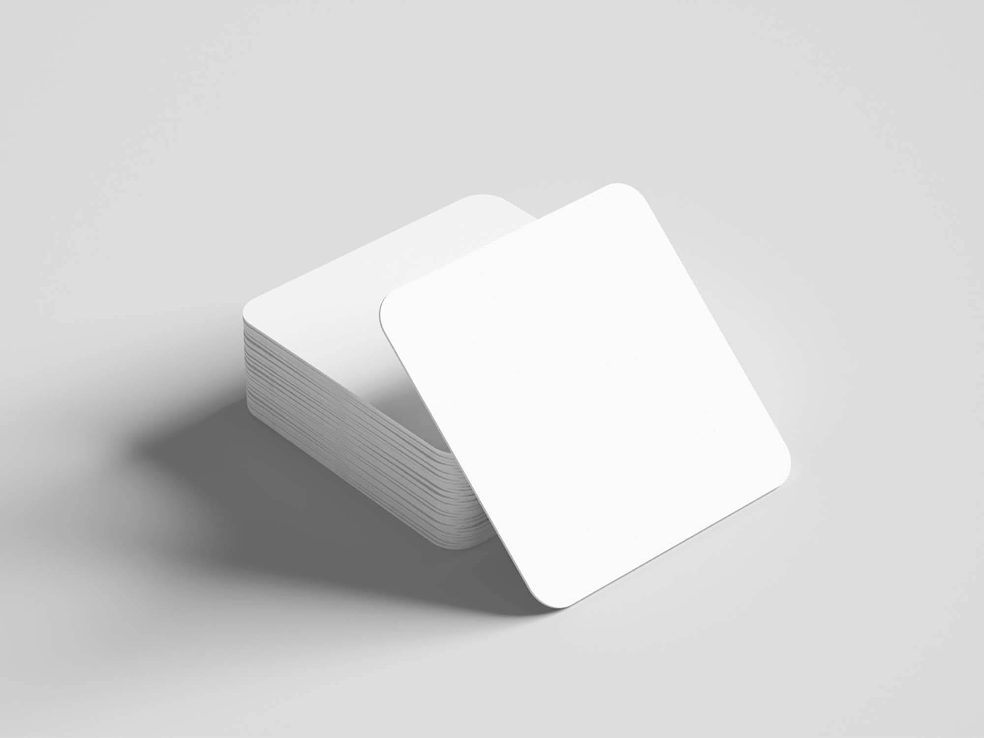 Drinks Coaster Mockup 2